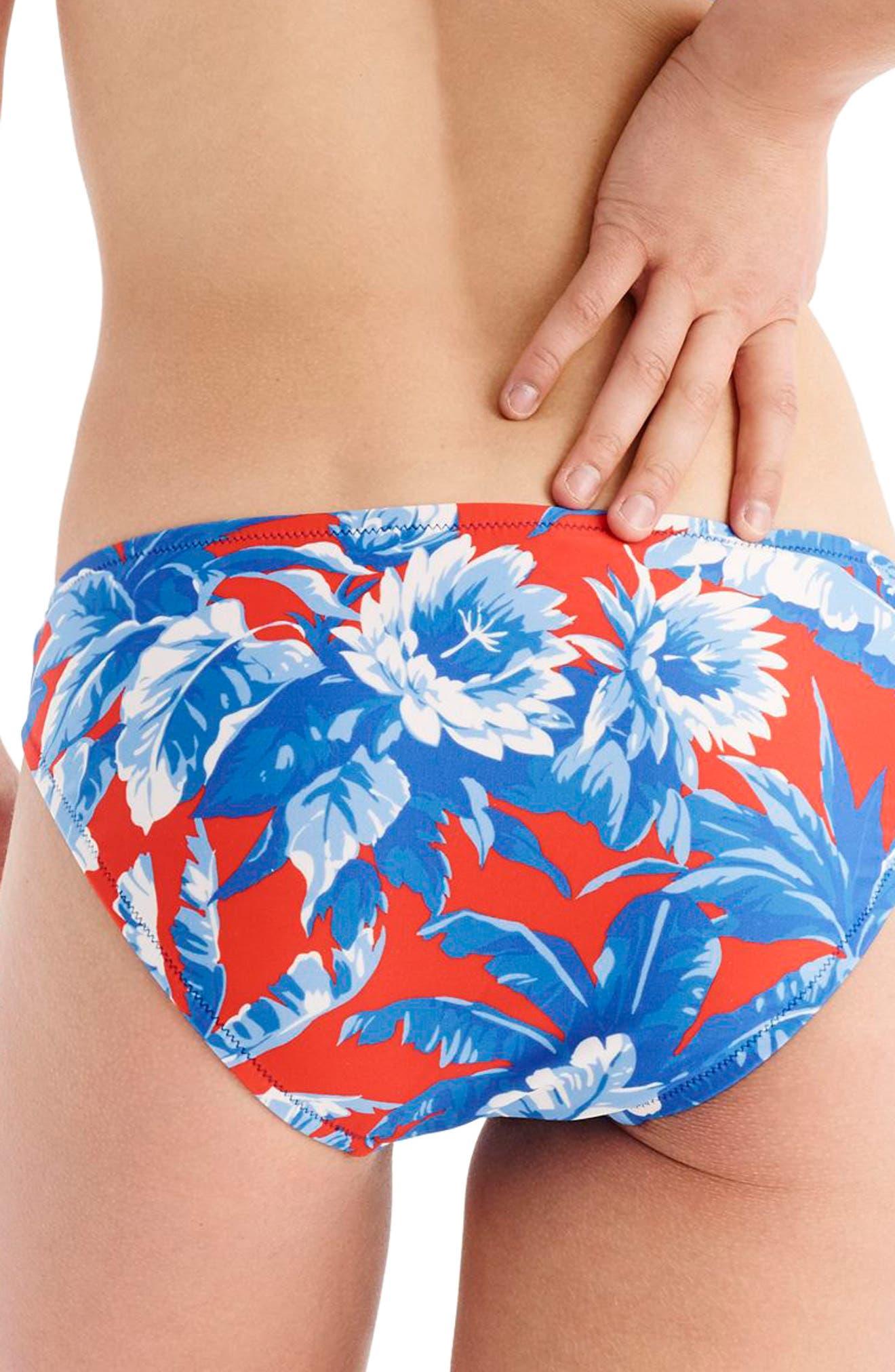 Ratti Rio Hipster Bikini Bottoms,                             Alternate thumbnail 2, color,                             Blue Multi