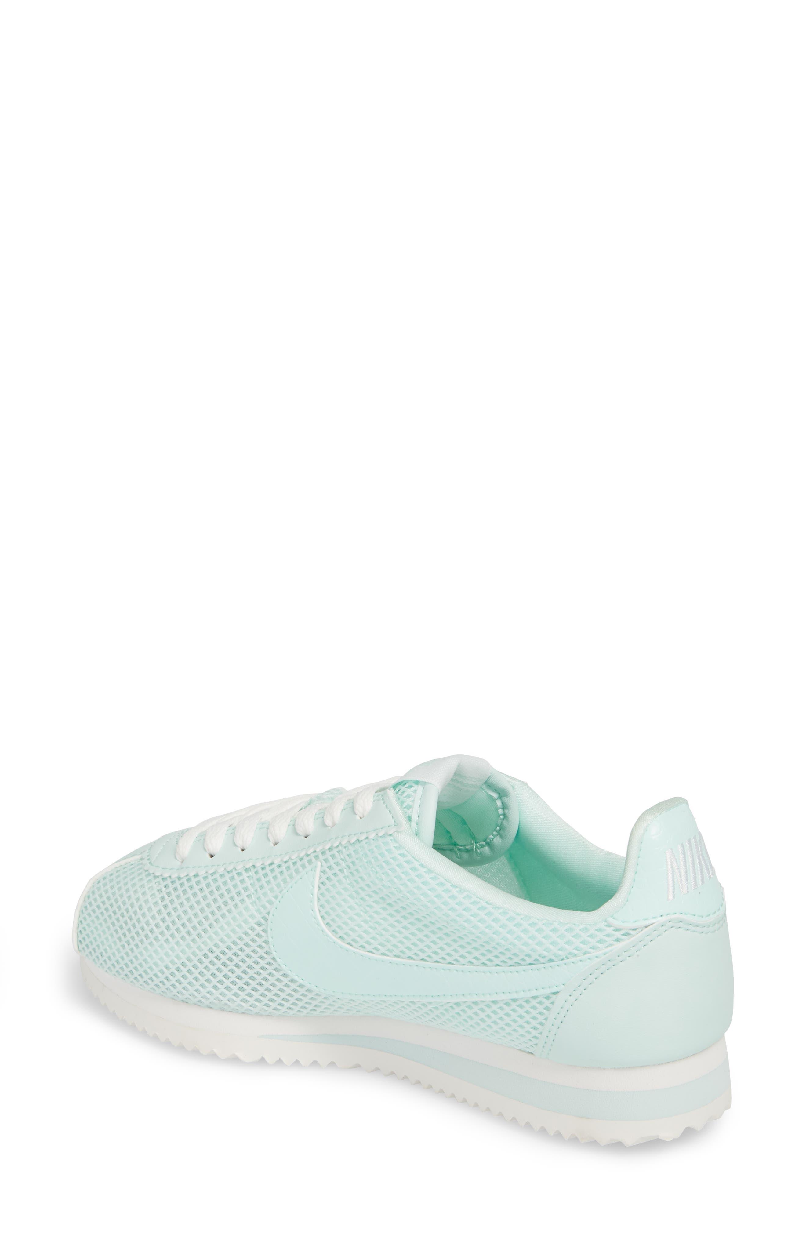 Classic Cortez Premium XLV Sneaker,                             Alternate thumbnail 2, color,                             Igloo/ Igloo/ Summit White