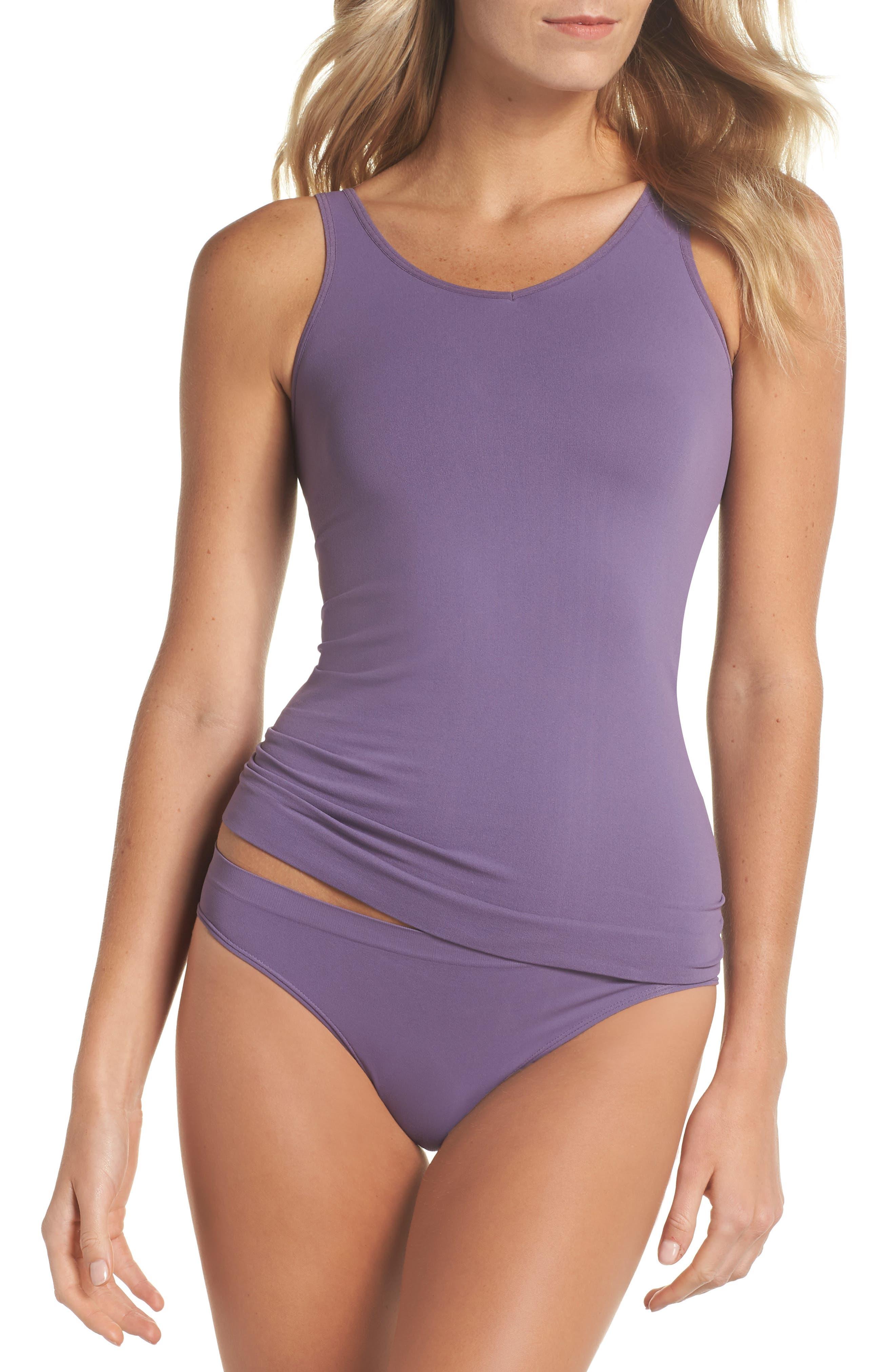 Seamless Bikini,                             Alternate thumbnail 6, color,                             Purple Mulled