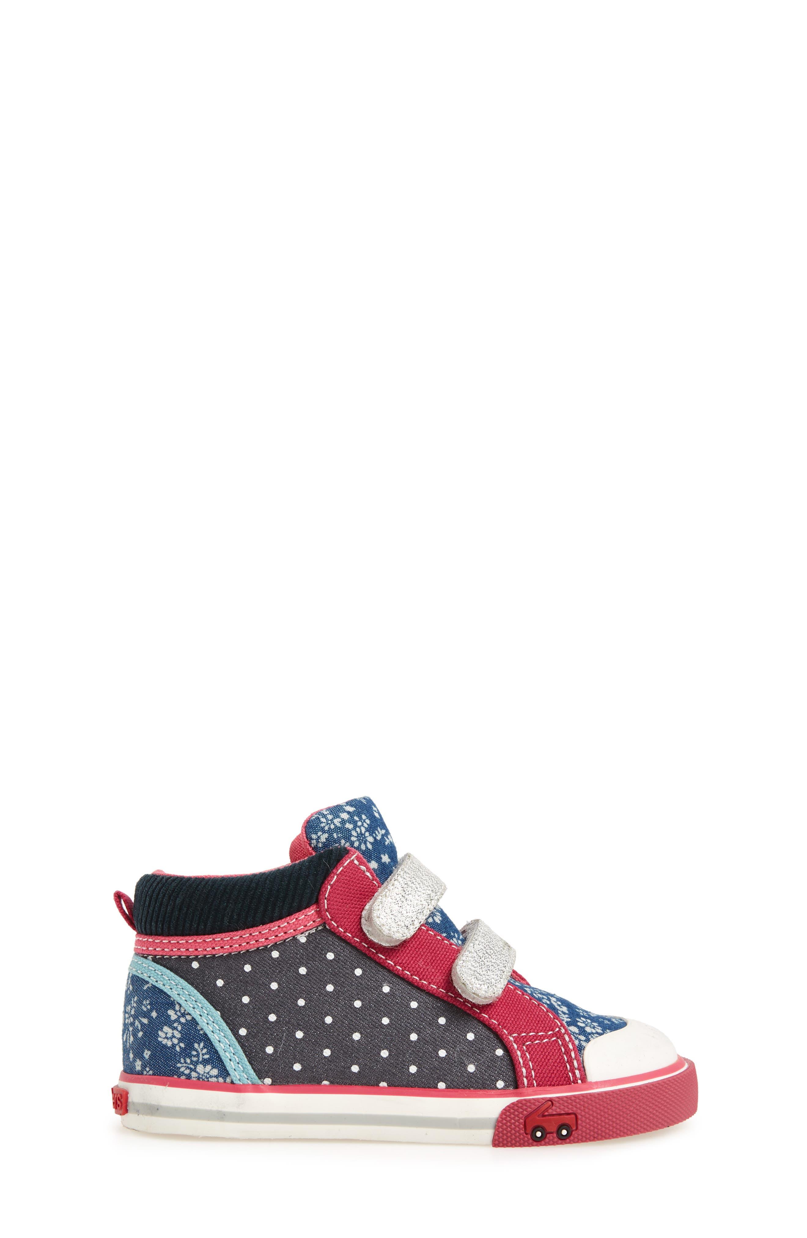 Kya Sneaker,                             Alternate thumbnail 3, color,                             Navy Corduroy/ Multi