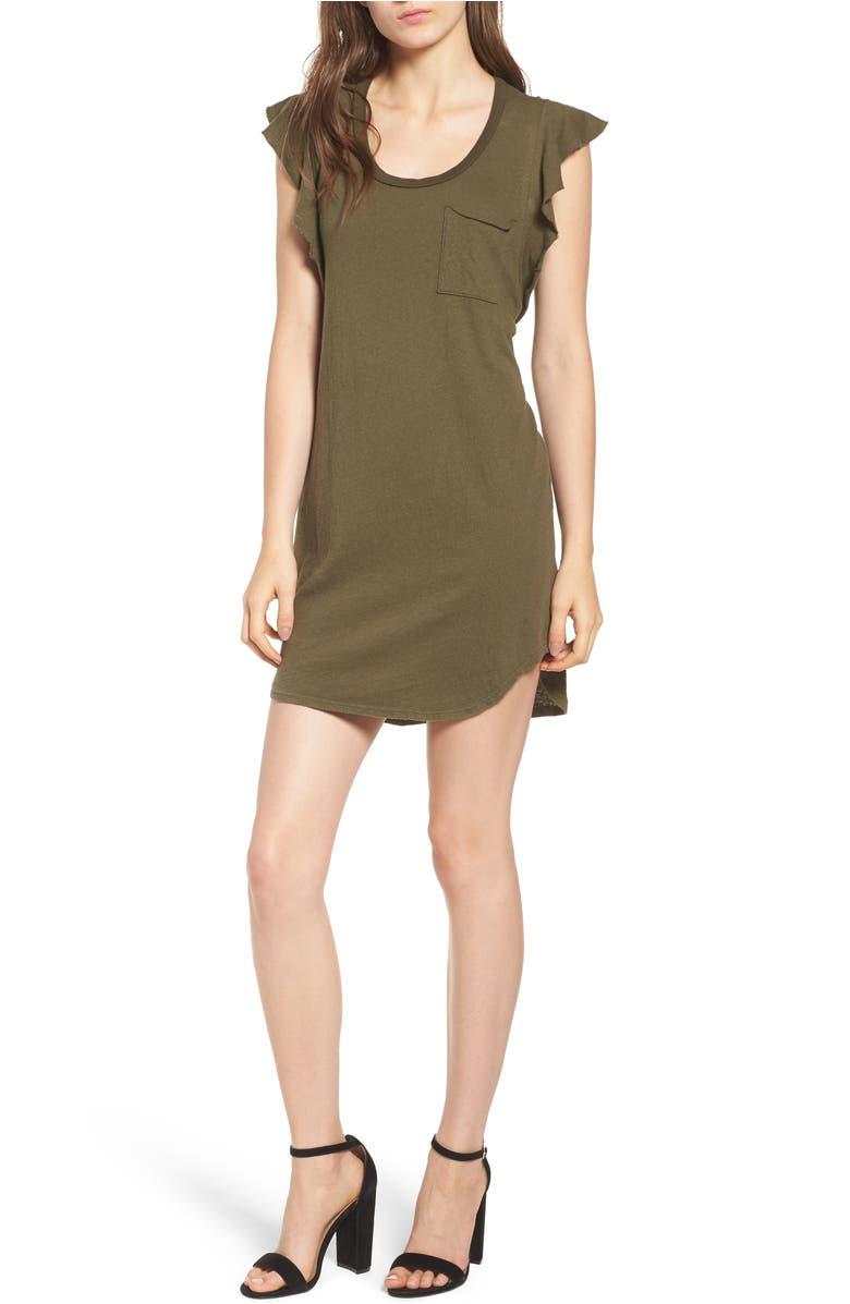 7923b6333bd flutter-sleeve-t-shirt-dress by pam- -gela