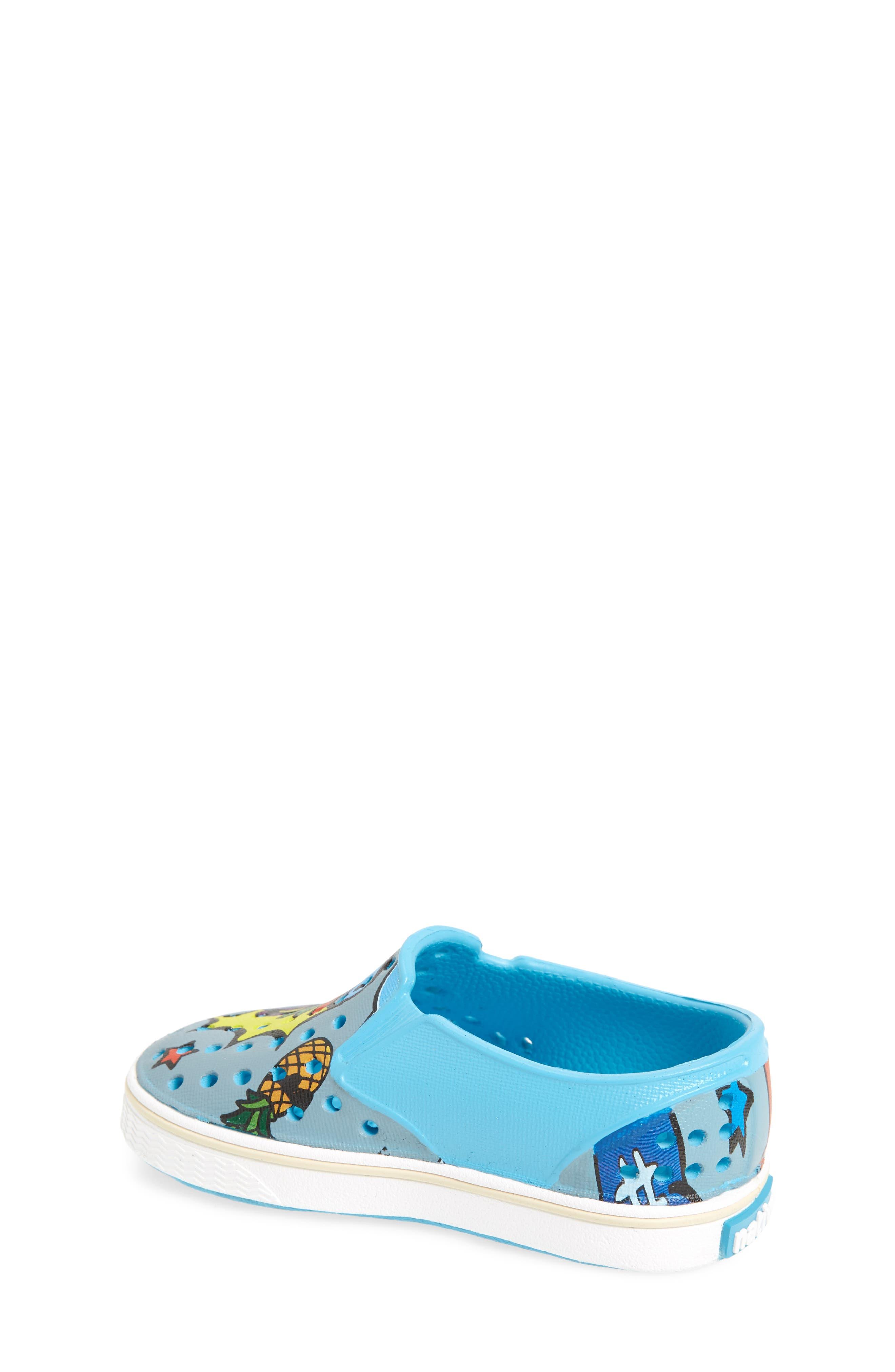 Alternate Image 2  - Native Shoes Miles Print Slip-On Sneaker (Baby, Walker, Toddler, Little Kid & Big Kid)