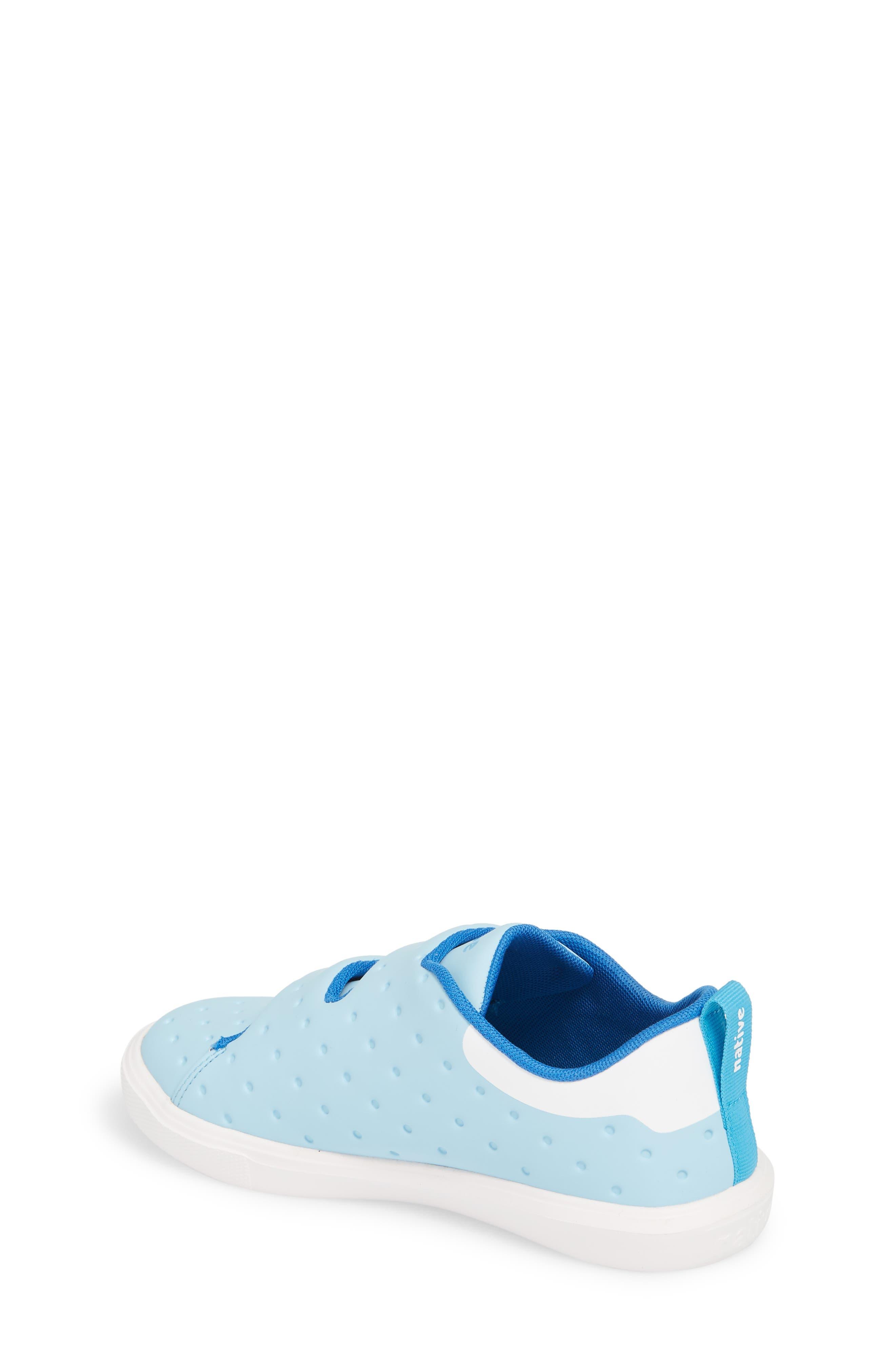 Monaco Sneaker,                             Alternate thumbnail 2, color,                             Sky Blue/ Shell White