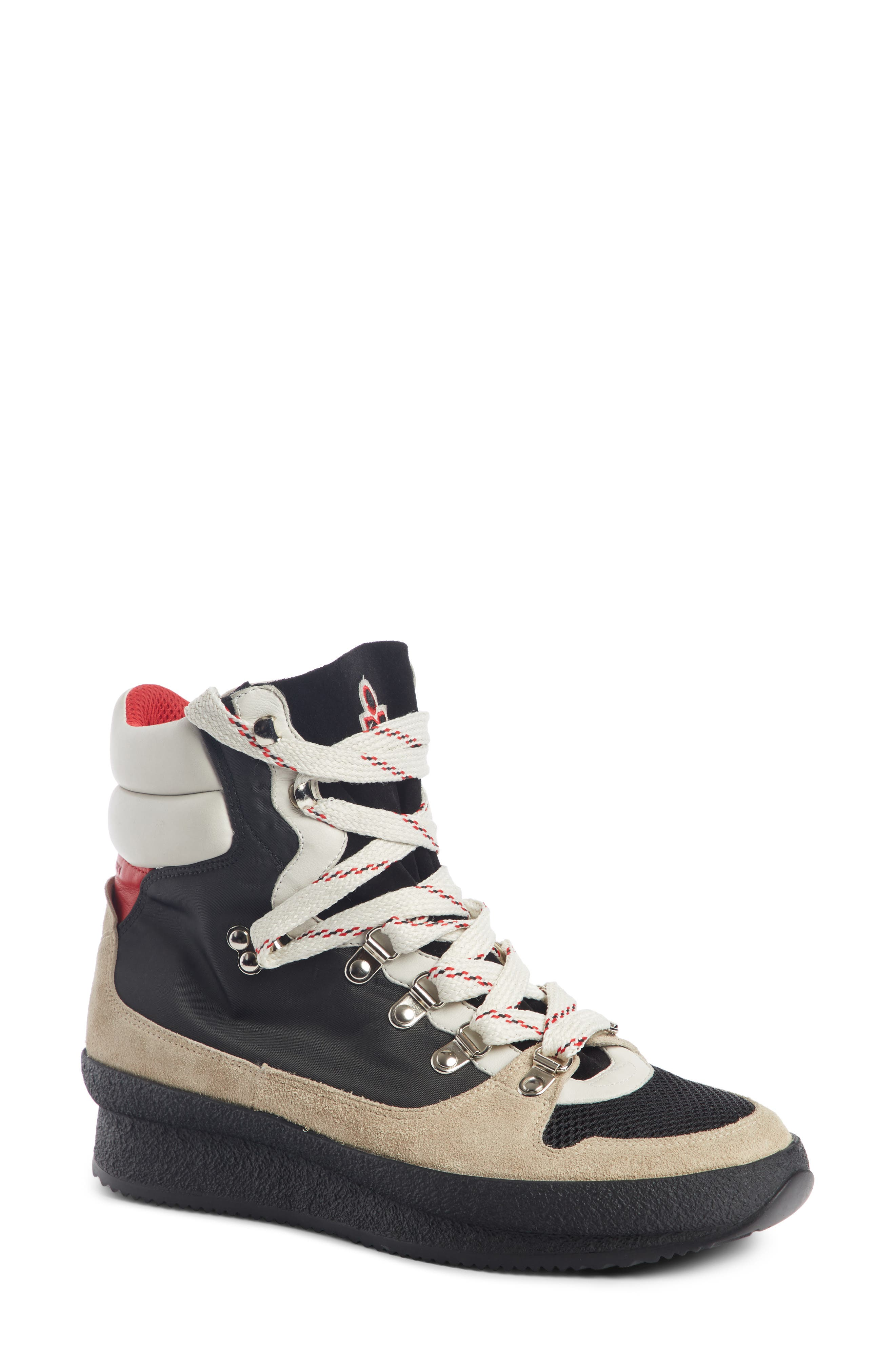Isabel Marant Brendta High Top Sneaker Boot (Women)
