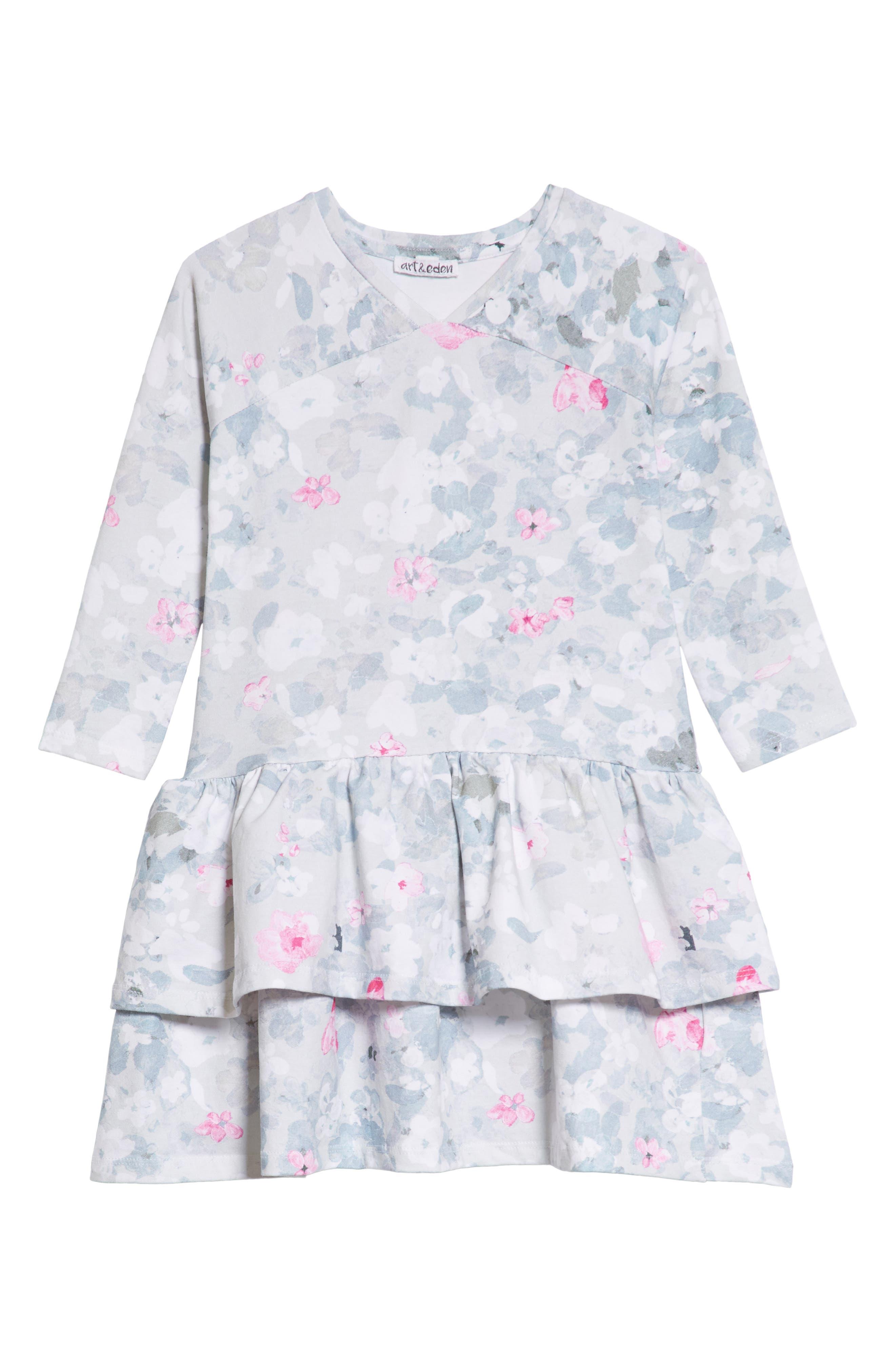 Julia Dress,                         Main,                         color, Hidden Floral