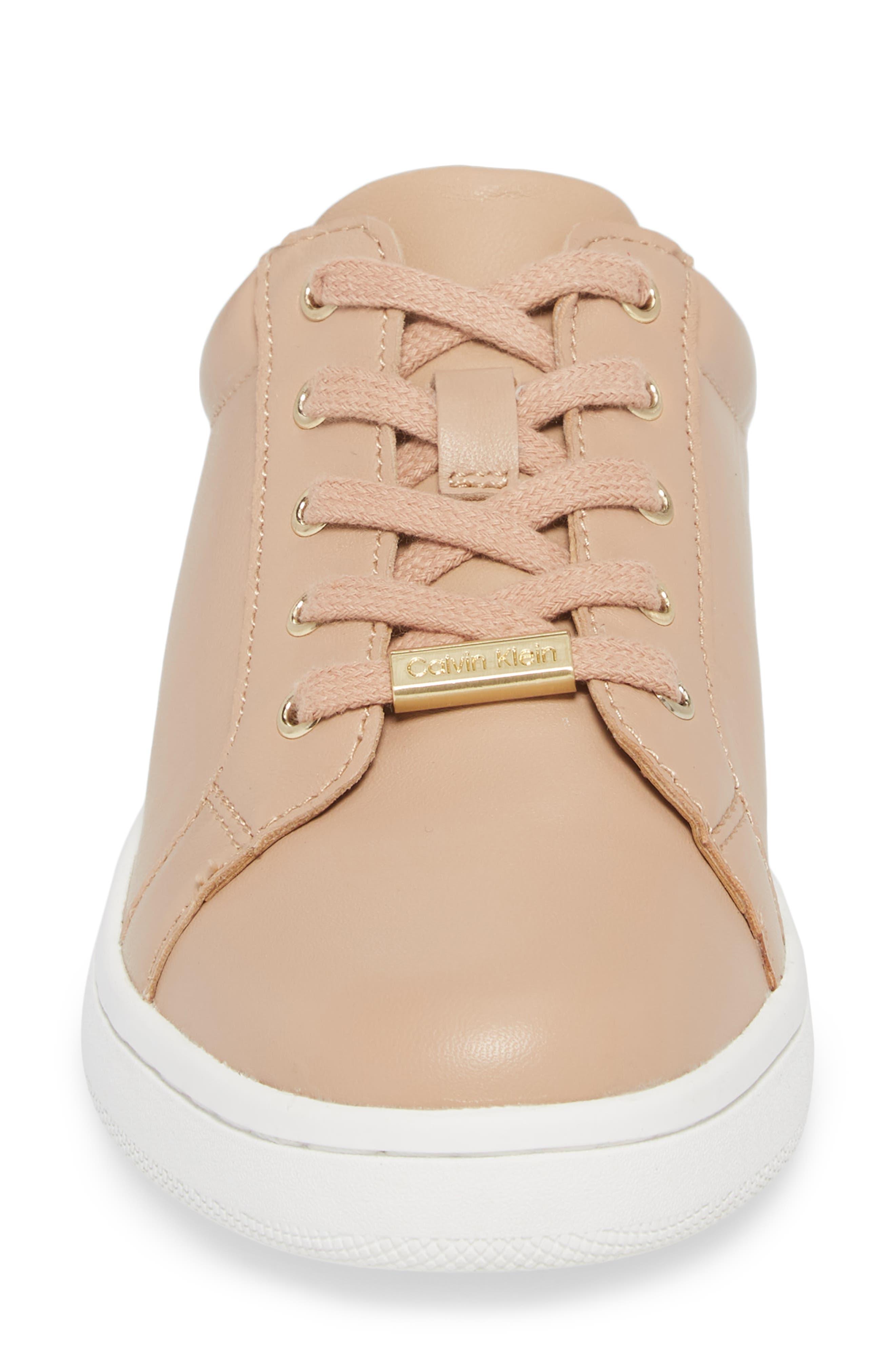 Danica Convertible Sneaker,                             Alternate thumbnail 5, color,                             Desert Sand Leather
