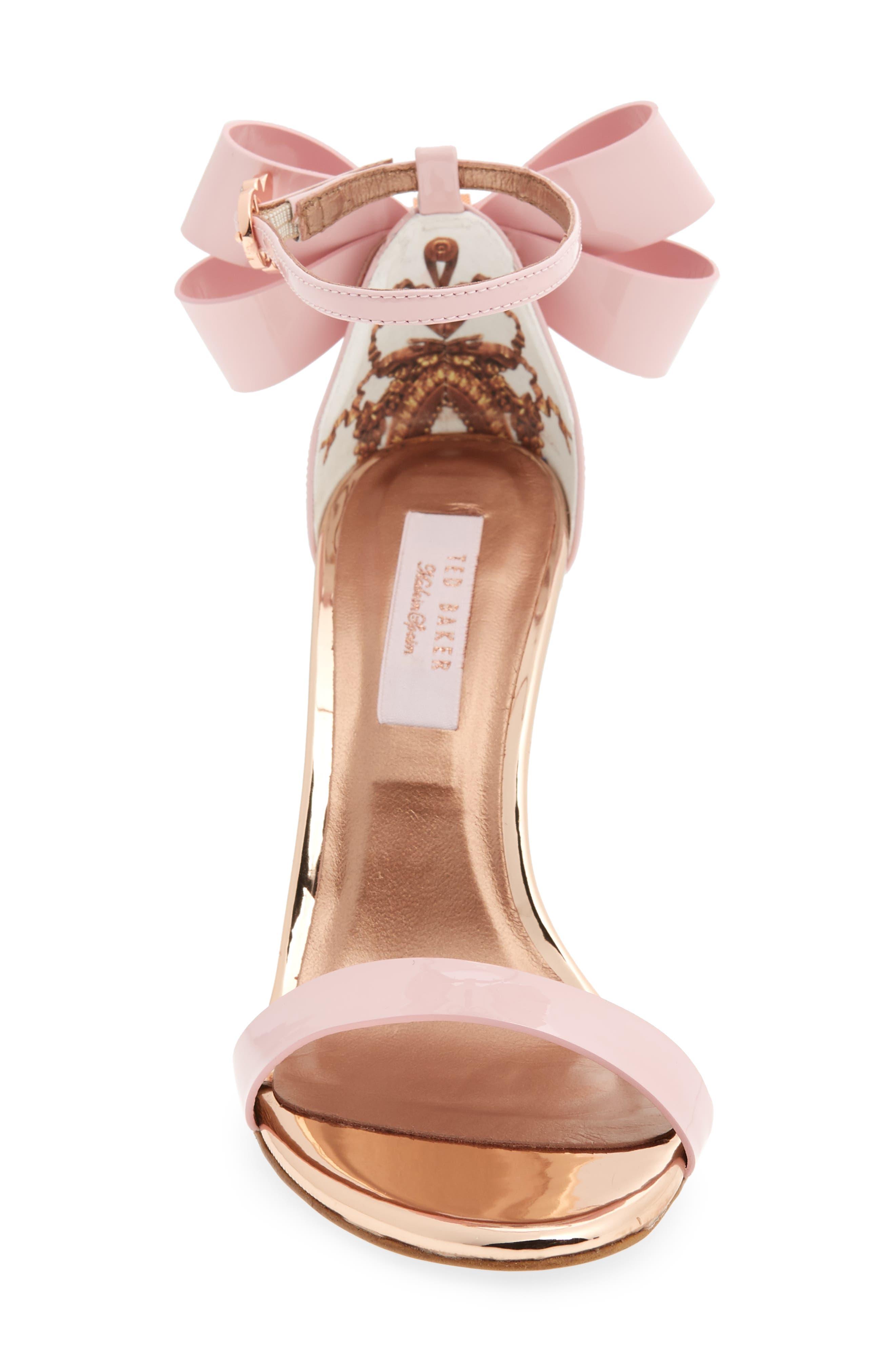 Sandalo Sandal,                             Alternate thumbnail 4, color,                             Light Pink Leather