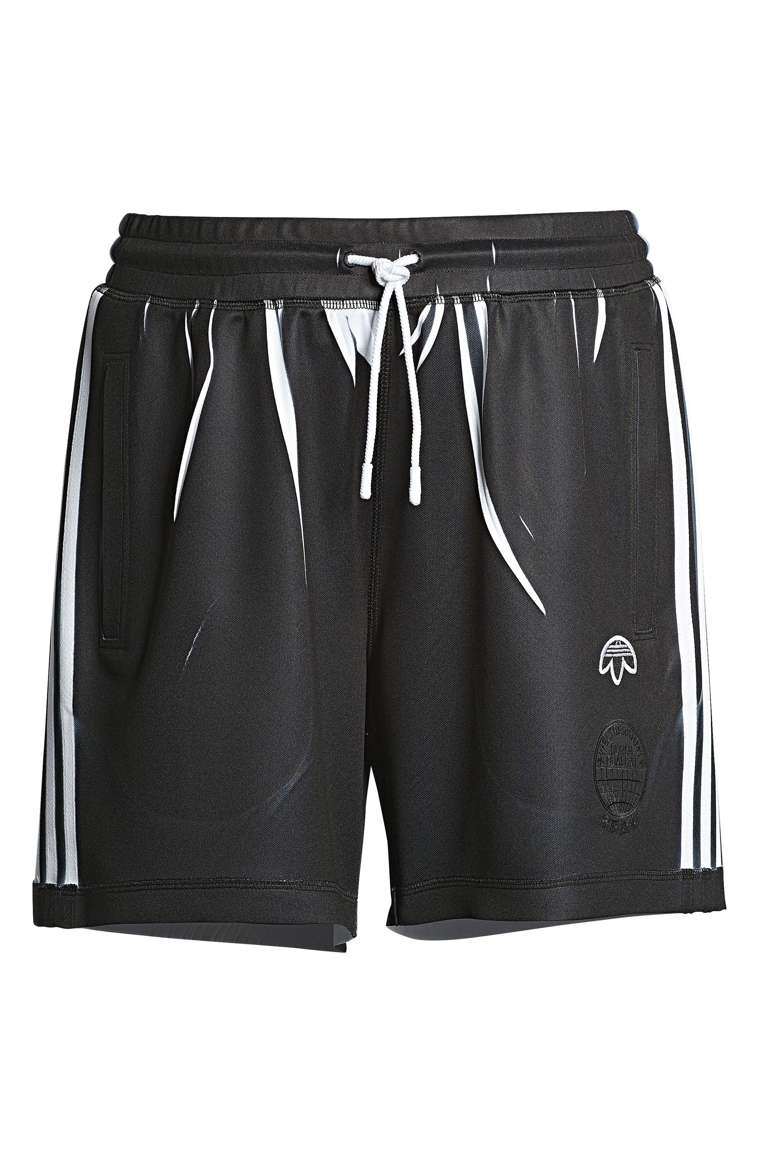 Shorts,                             Alternate thumbnail 7, color,                             Black/ White