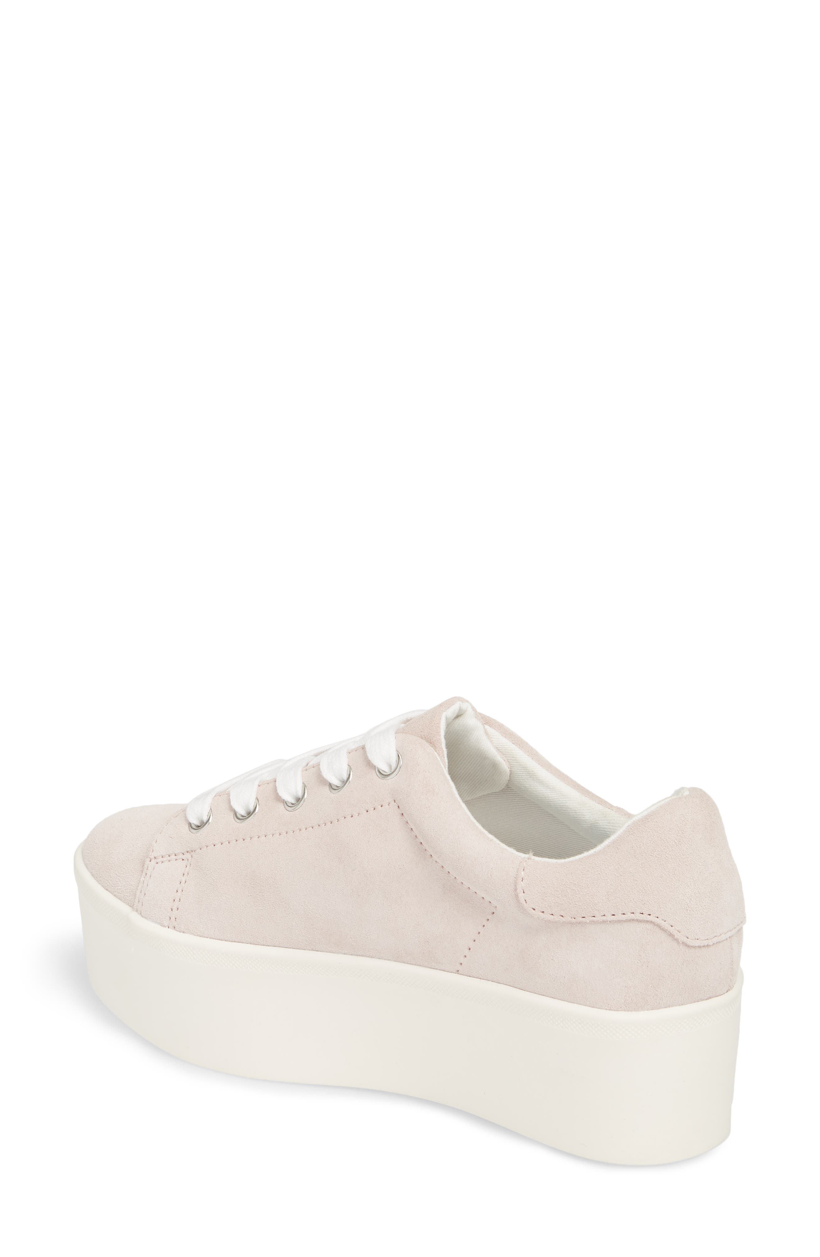 Palmer Sneaker,                             Alternate thumbnail 2, color,                             Pink Suede