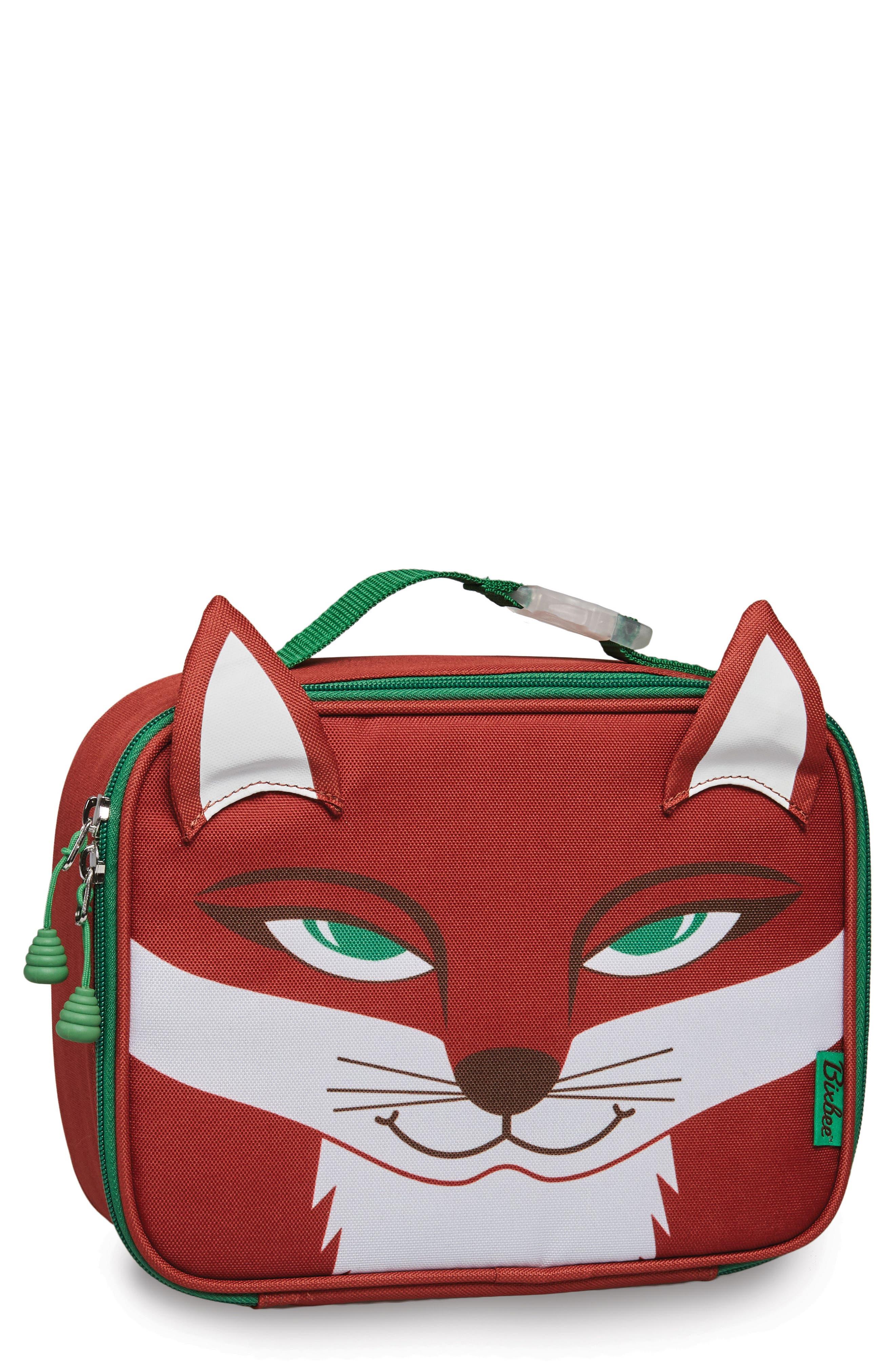 Bixbee Fox Water Resistant Lunchbox (Kids)
