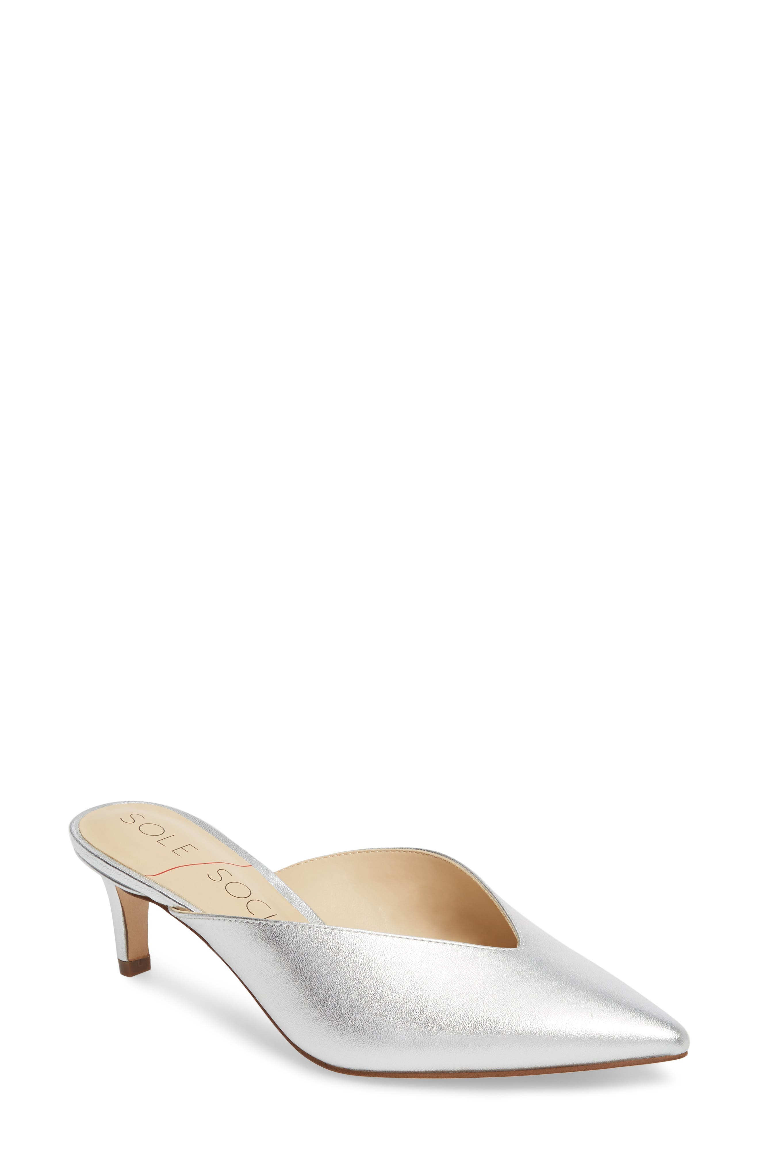 Sole Society Maleah Pointy Toe Mule (Women)