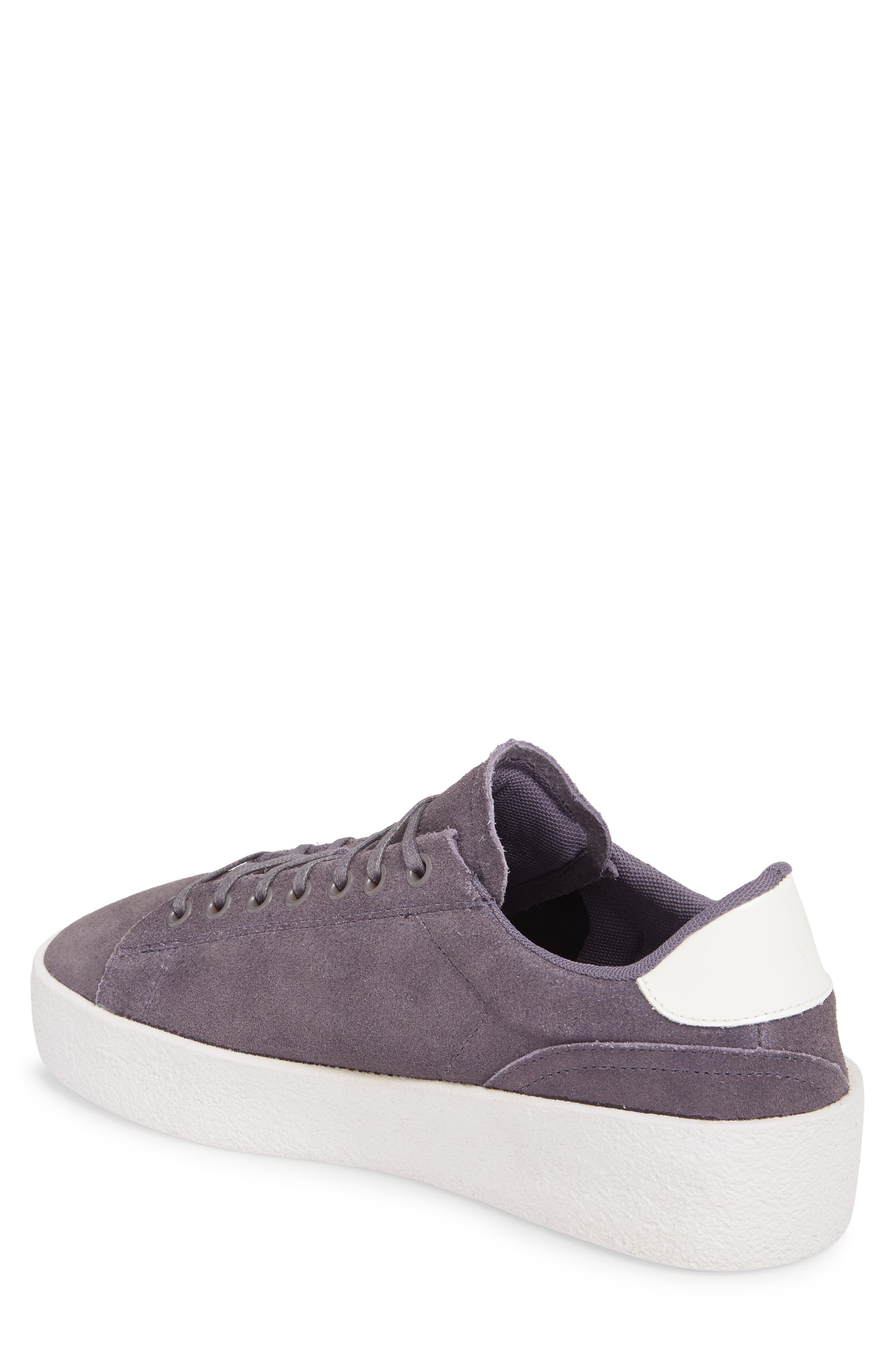 Jones Platform Sneaker,                             Alternate thumbnail 2, color,                             Purple Leather