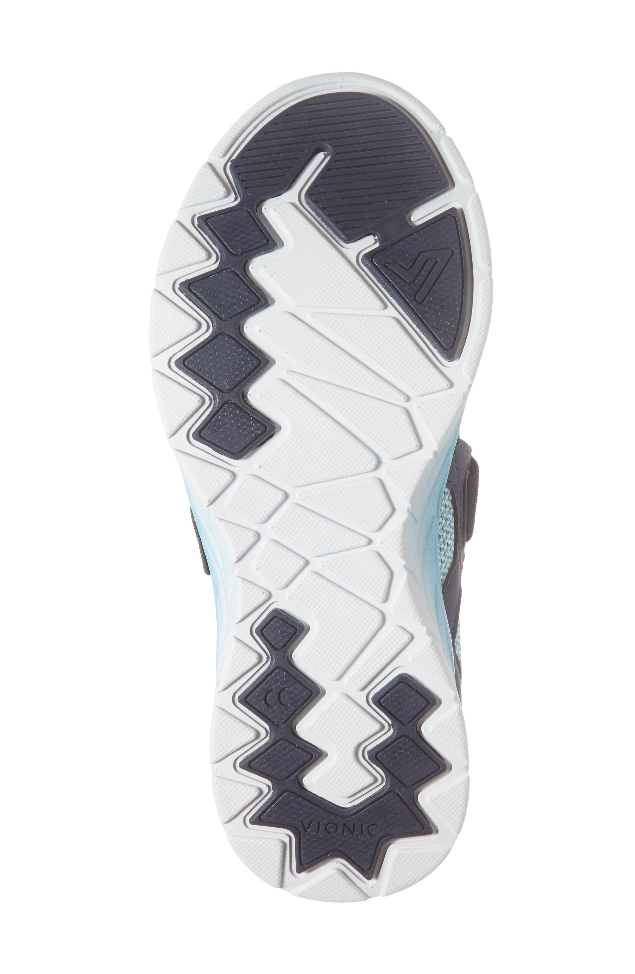 Dash Sneaker,                             Alternate thumbnail 6, color,                             Navy/ Light Blue Fabric