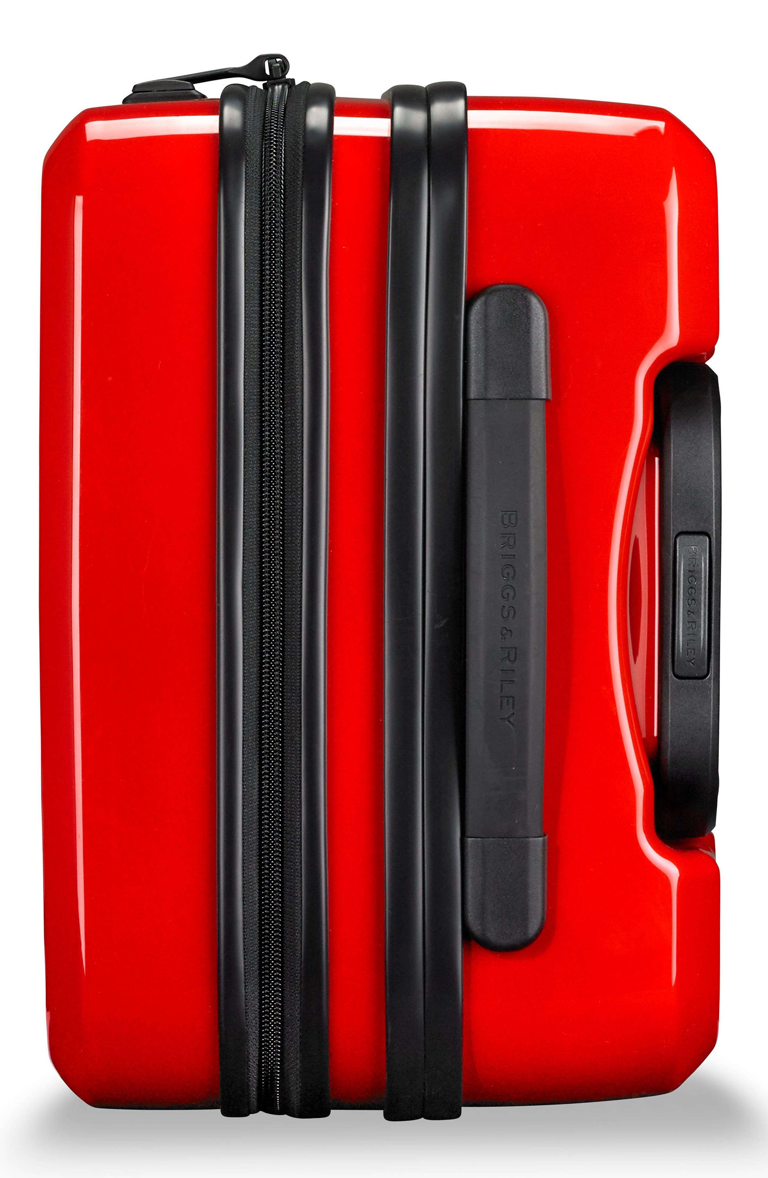 Domestic Expandable Spinner Wheeled Carry-On,                             Alternate thumbnail 5, color,                             Fire