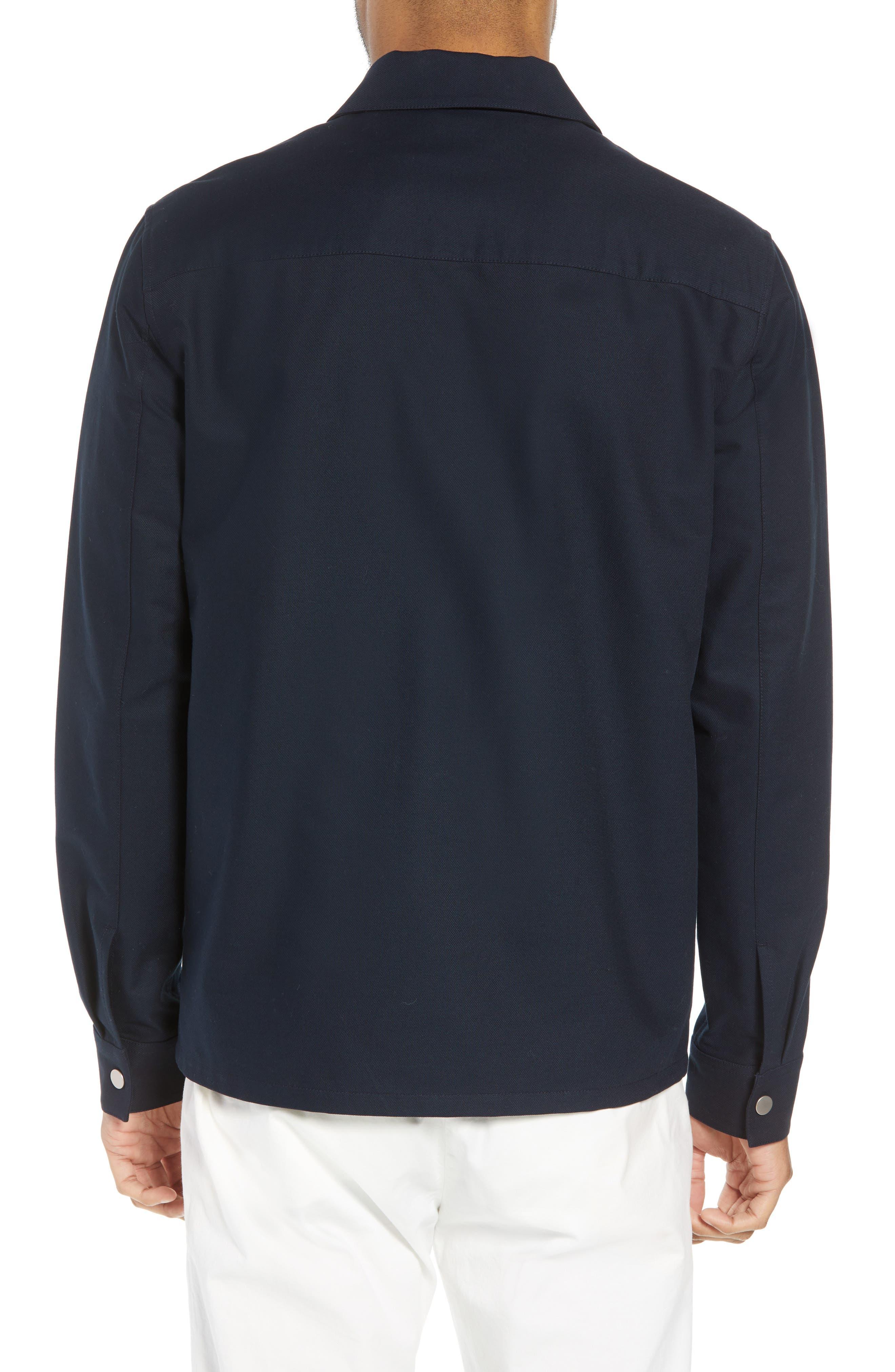 Rye Stretch Cotton Jacket,                             Alternate thumbnail 2, color,                             Eclipse