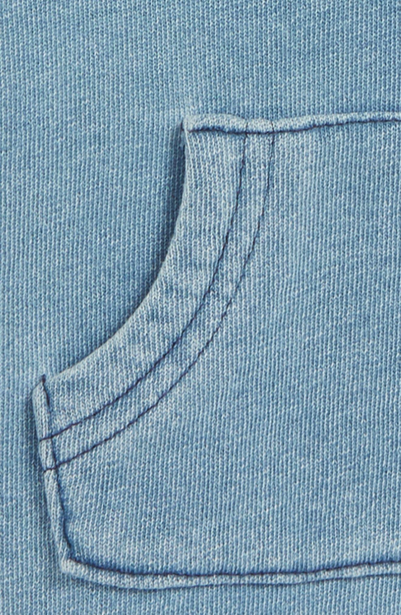 Hooded Pullover,                             Alternate thumbnail 2, color,                             Blue Indigo