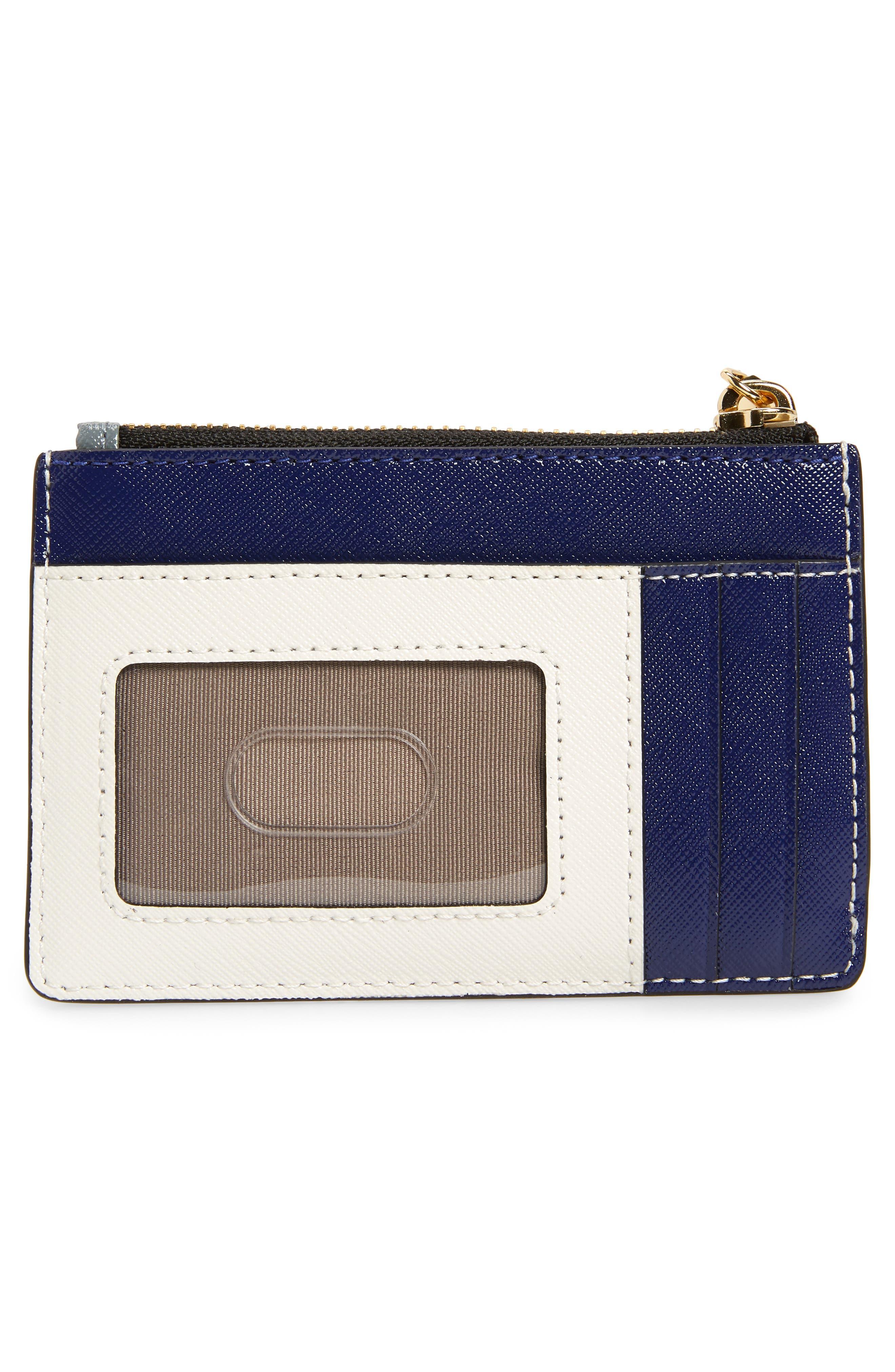 Snapshot Leather ID Wallet,                             Alternate thumbnail 4, color,                             Slate Multi