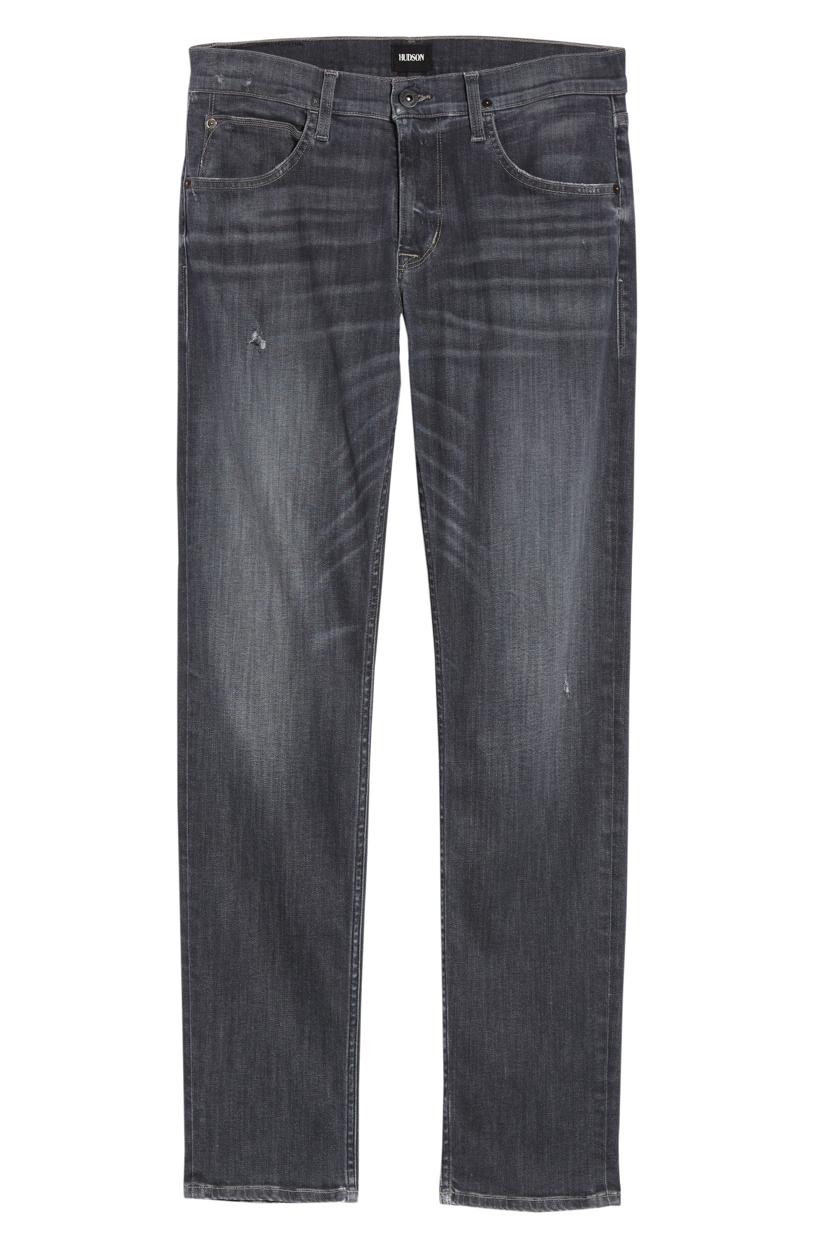 Blake Slim Fit Jeans,                             Alternate thumbnail 6, color,                             Silver Lake