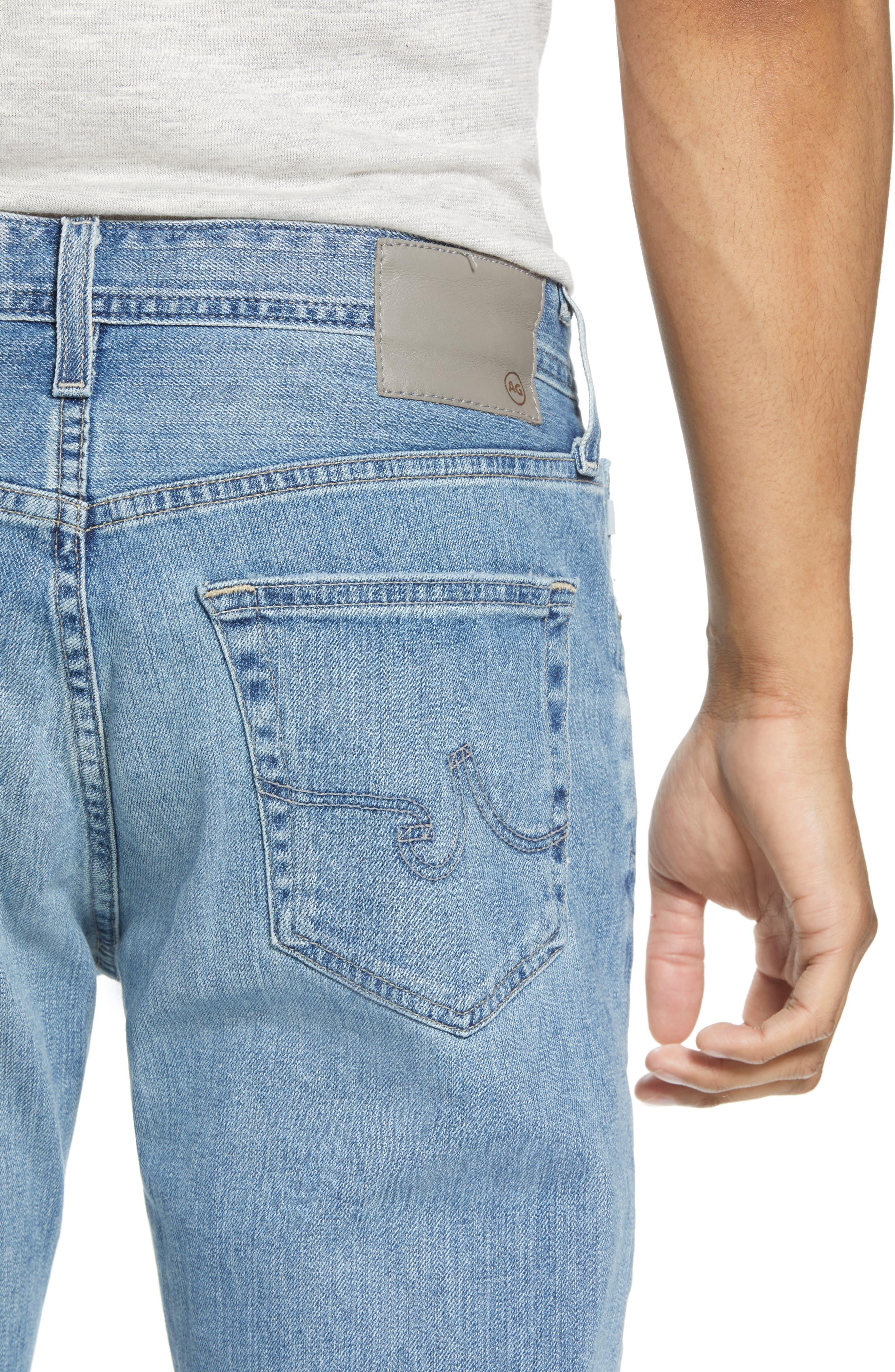 Everett Slim Straight Fit Jeans,                             Alternate thumbnail 4, color,                             18 Years Oceano
