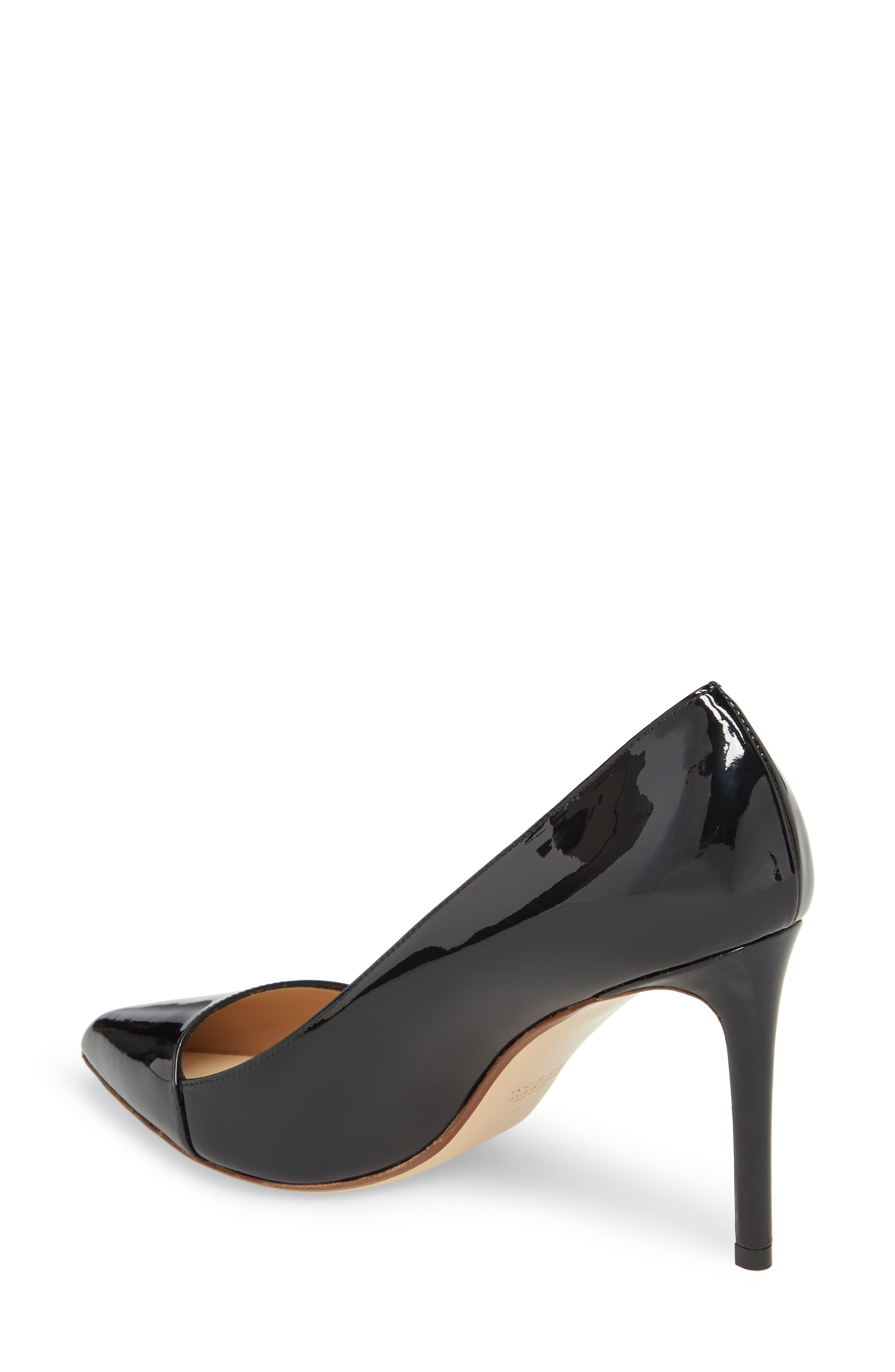 Asymmetrical Pump,                             Alternate thumbnail 2, color,                             Black