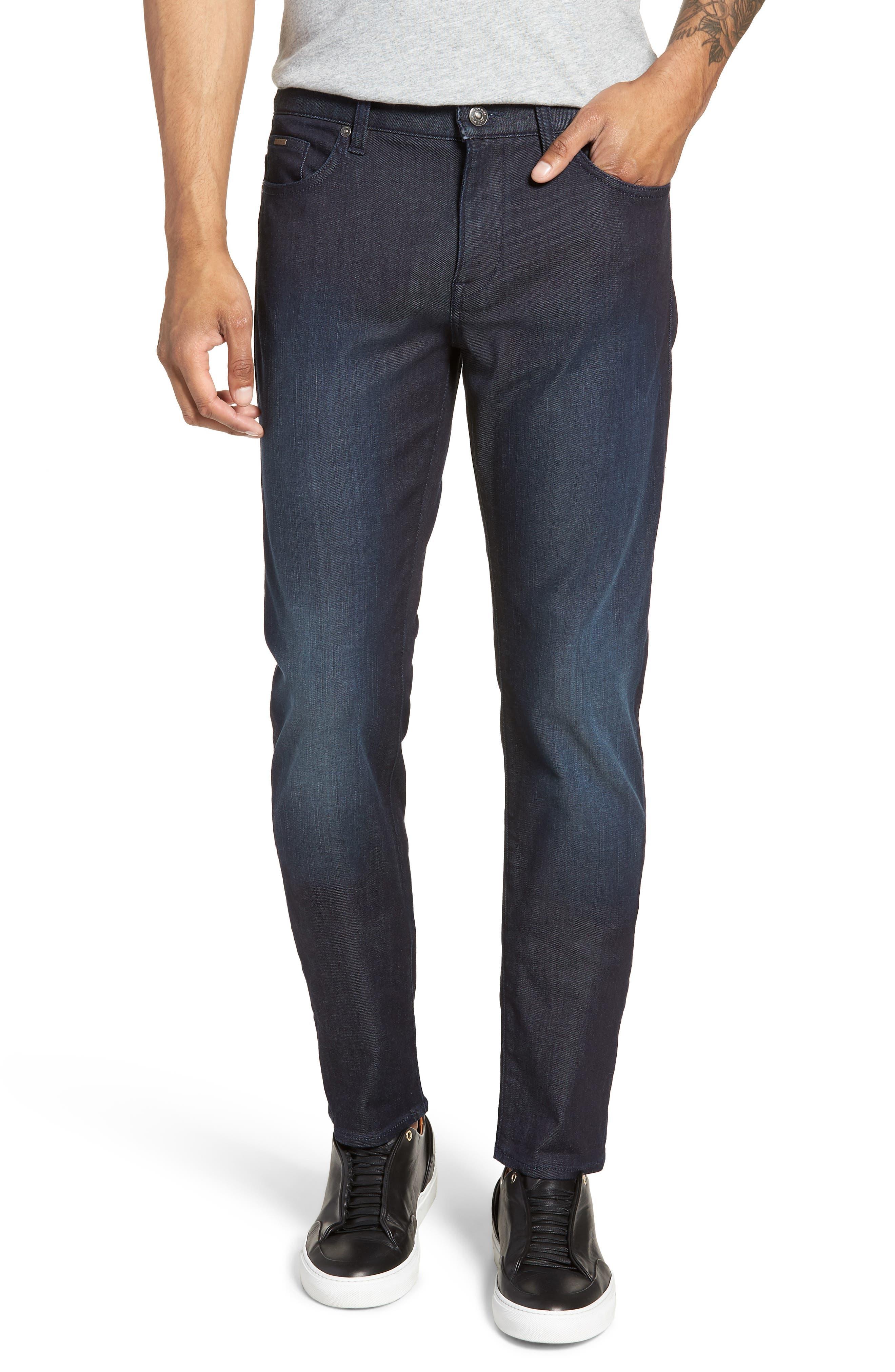 Delaware Slim Fit Jeans,                             Main thumbnail 1, color,                             Blue