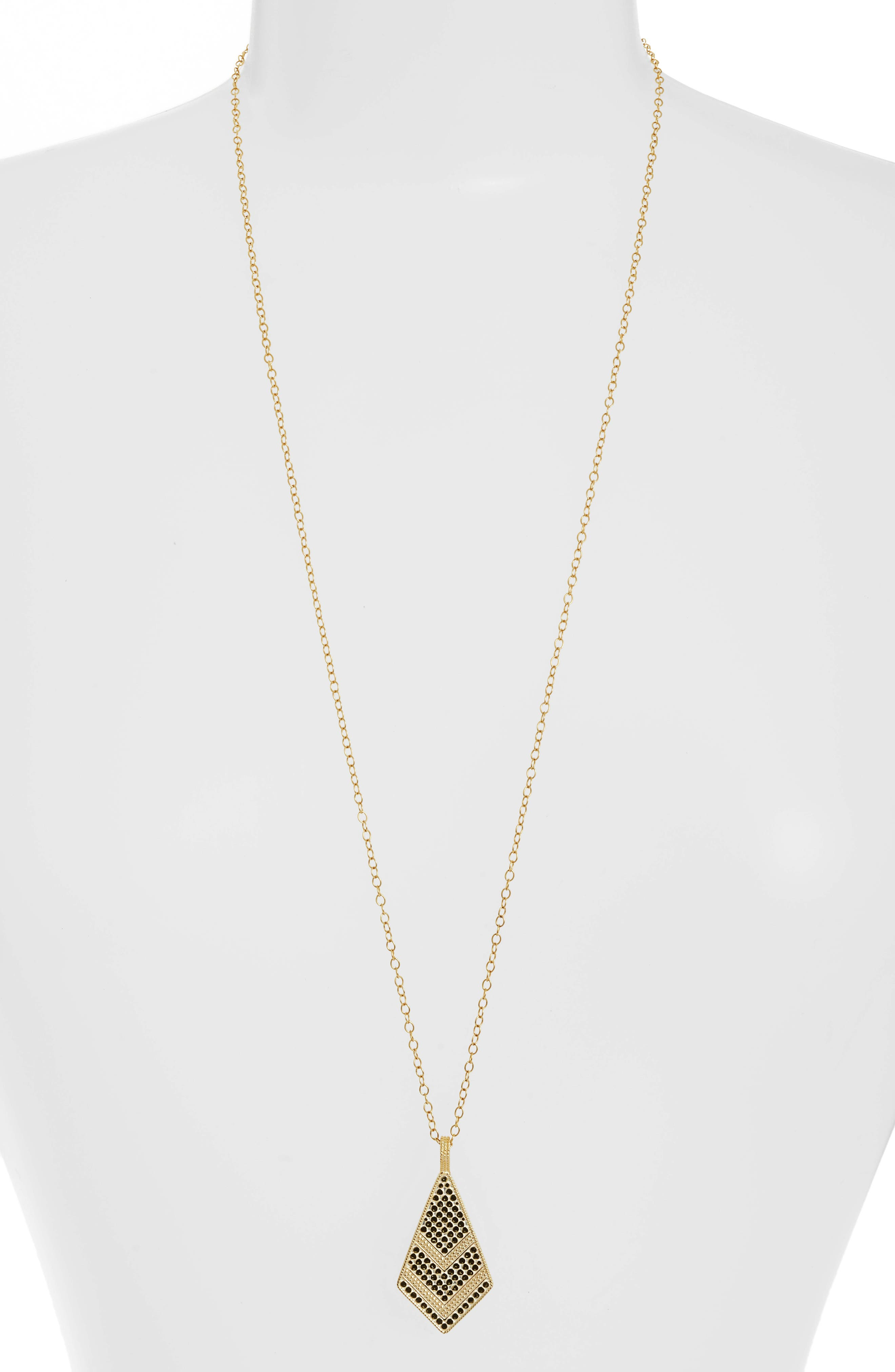 Anna Beck Gold Plate Kite Pendant Necklace