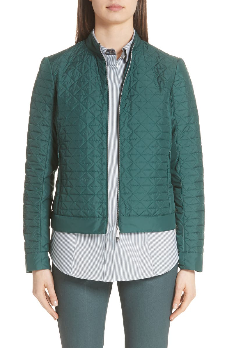 Becks Quilted Moto Jacket