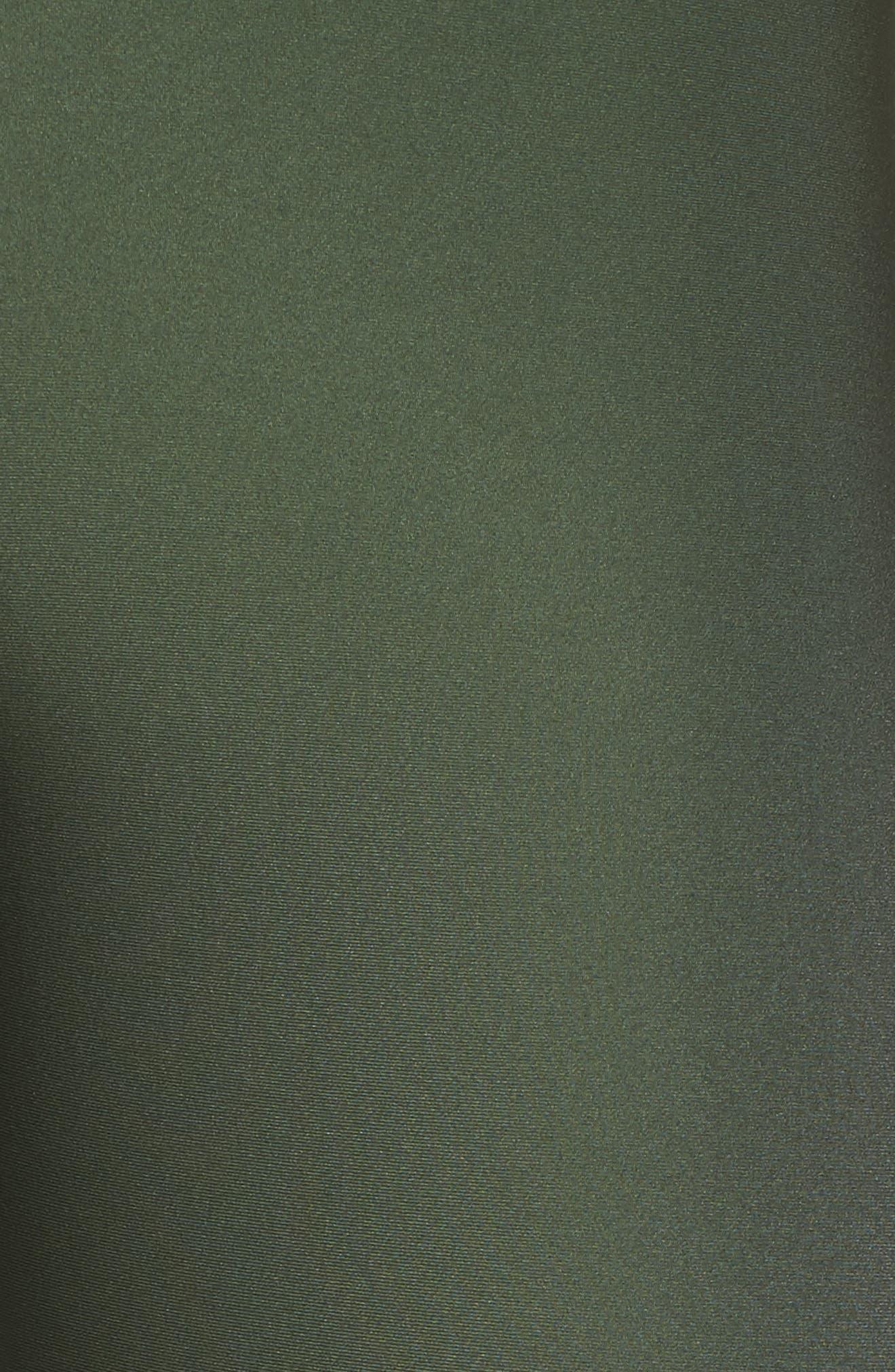 Ultra Luster Leggings,                             Alternate thumbnail 6, color,                             Army Green Beetle