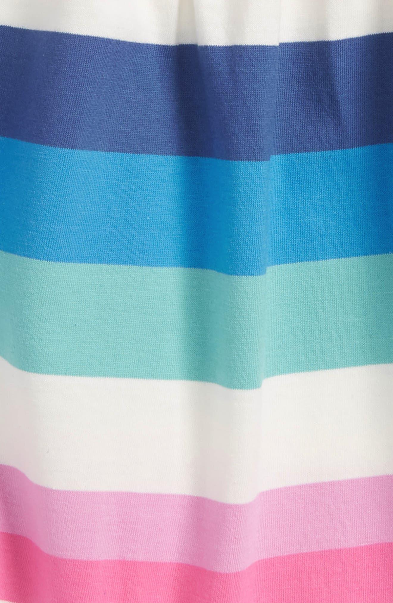 Stripe Bubble Romper,                             Alternate thumbnail 2, color,                             Cobalt