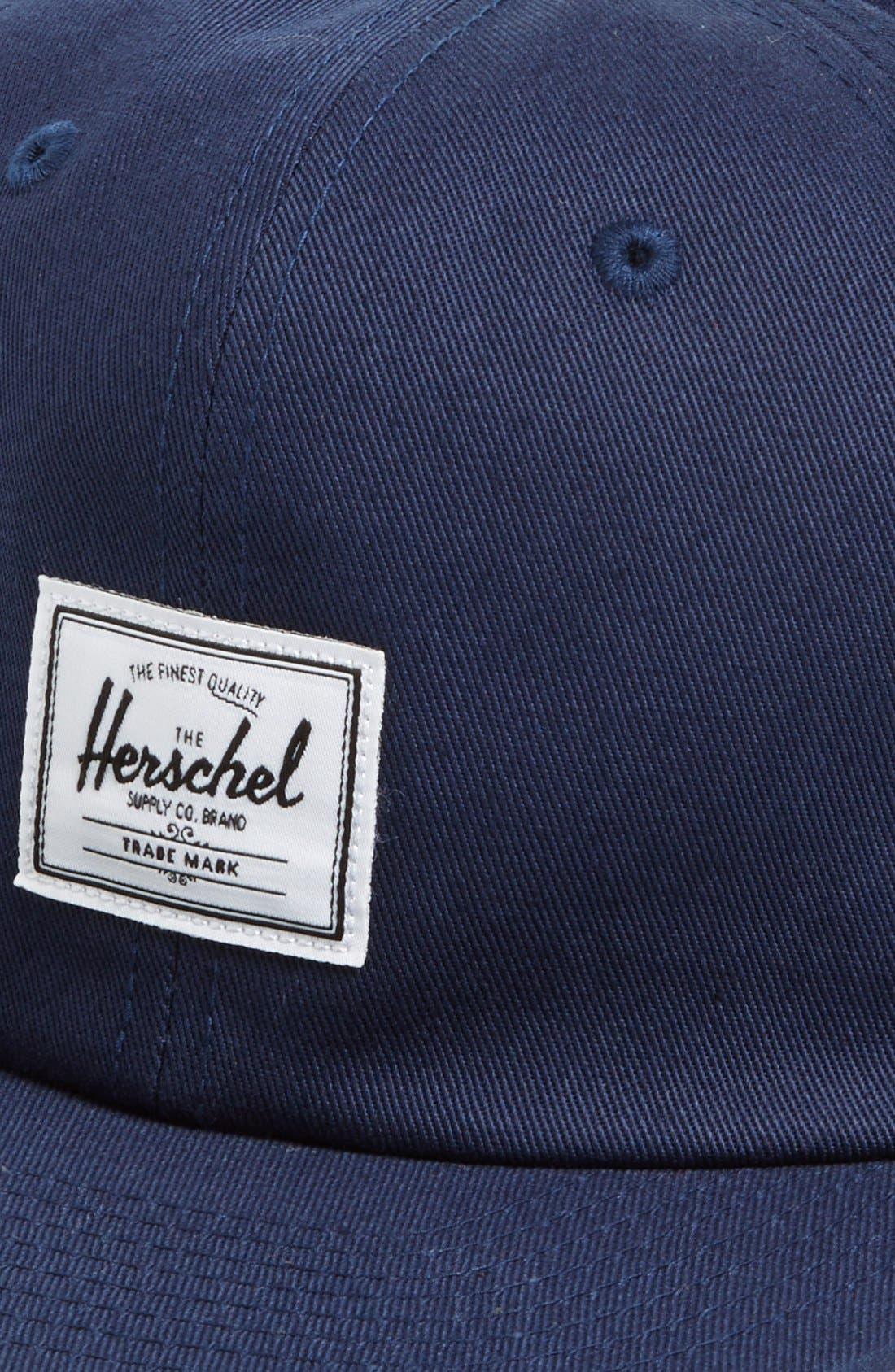 Alternate Image 2  - Herschel Supply Co. 'Albert' Cotton Baseball Cap