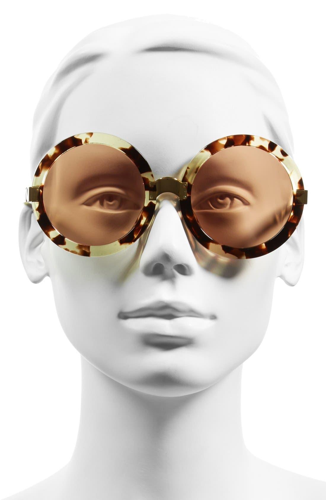 Alternate Image 2  - Wildfox 'Malibu Deluxe' 55mm Retro Sunglasses