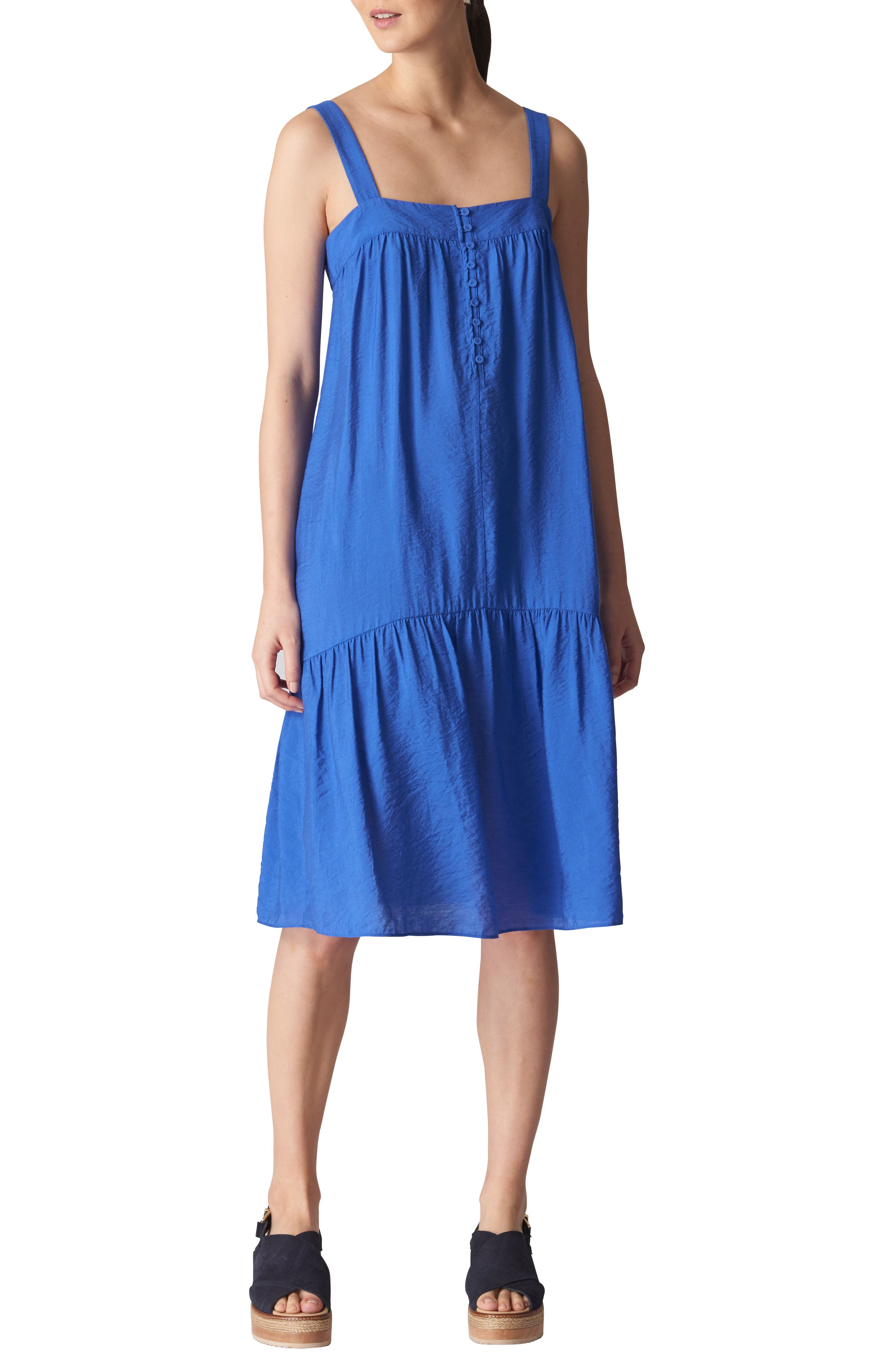 Florencia Sun Dress,                         Main,                         color, Blue
