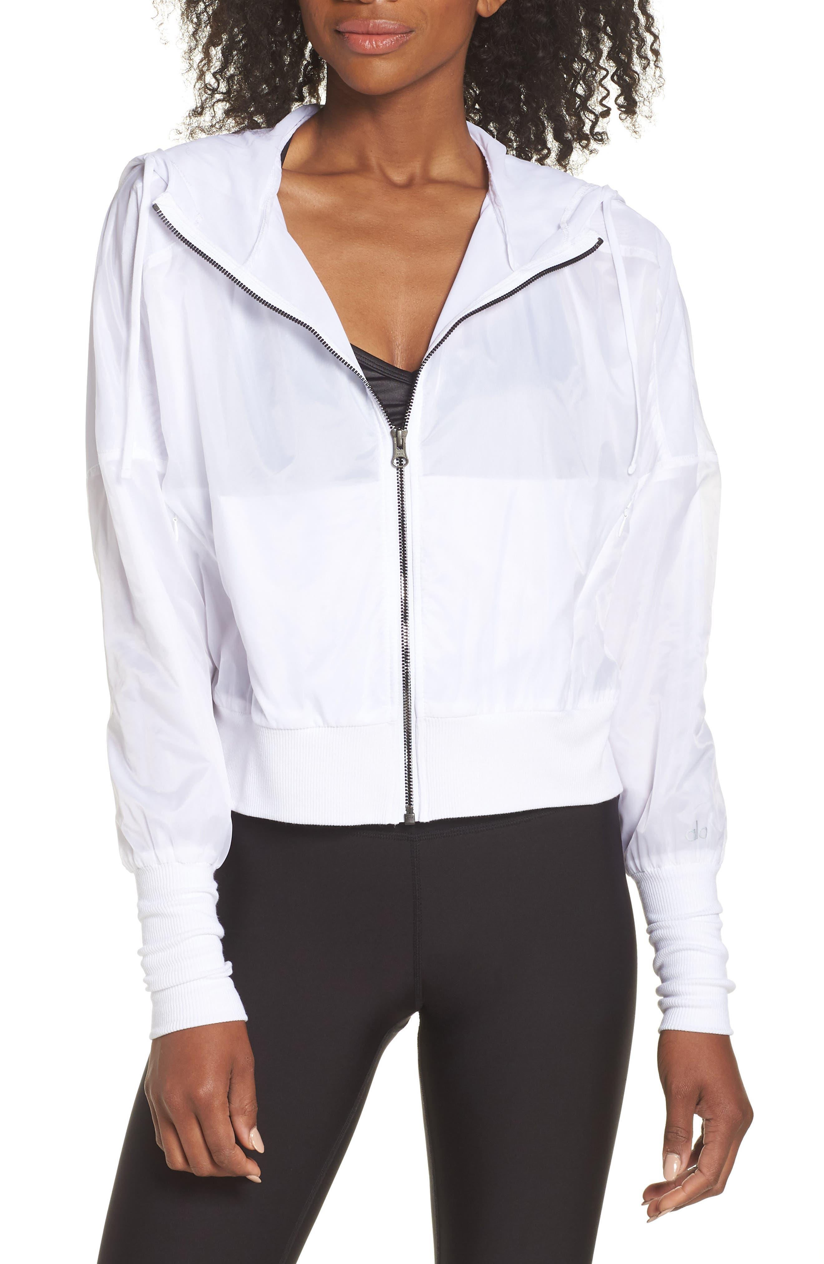 Aqua Jacket,                             Main thumbnail 1, color,                             White
