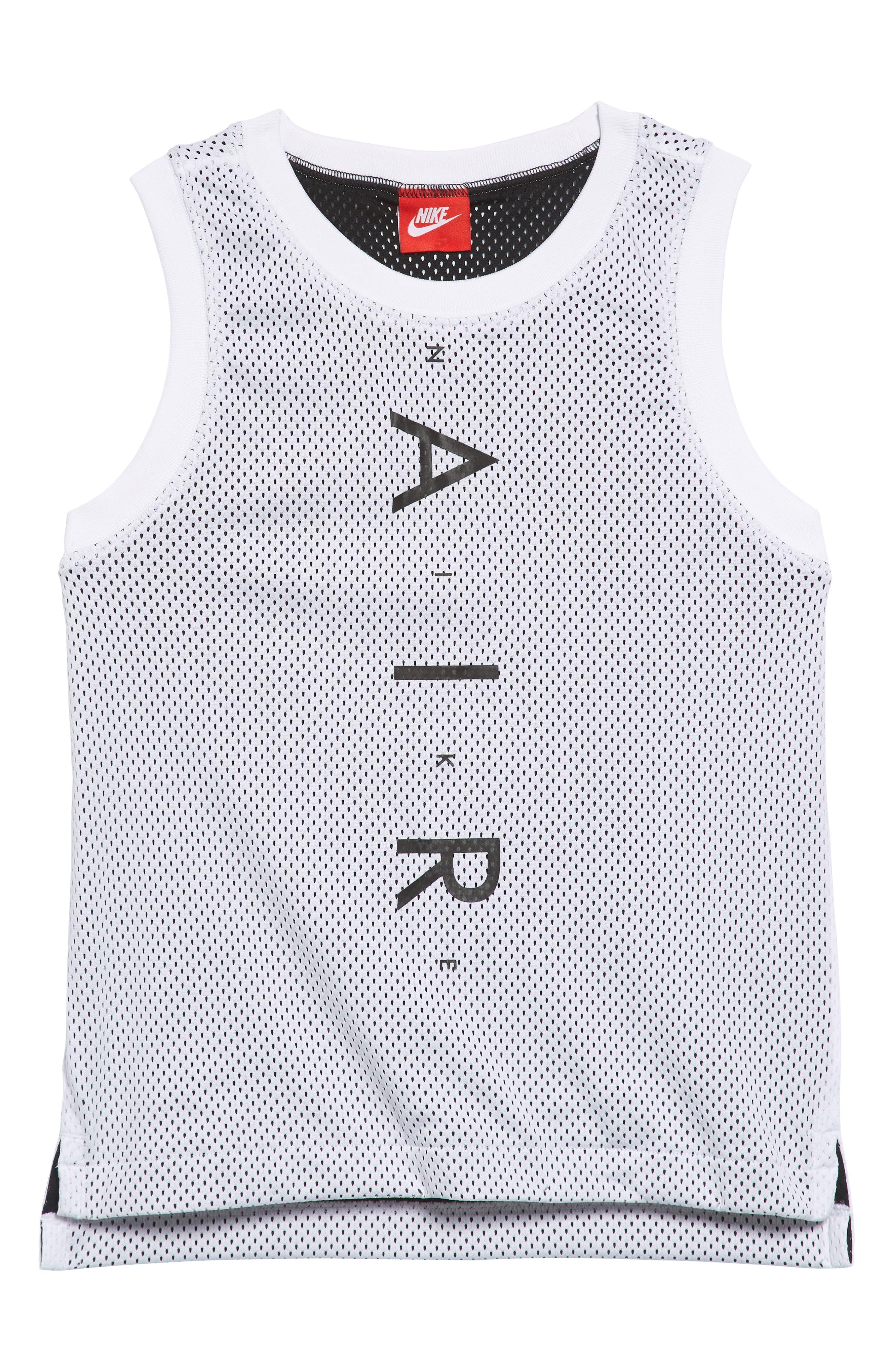 Air Dry Tank,                             Main thumbnail 1, color,                             White/ Black