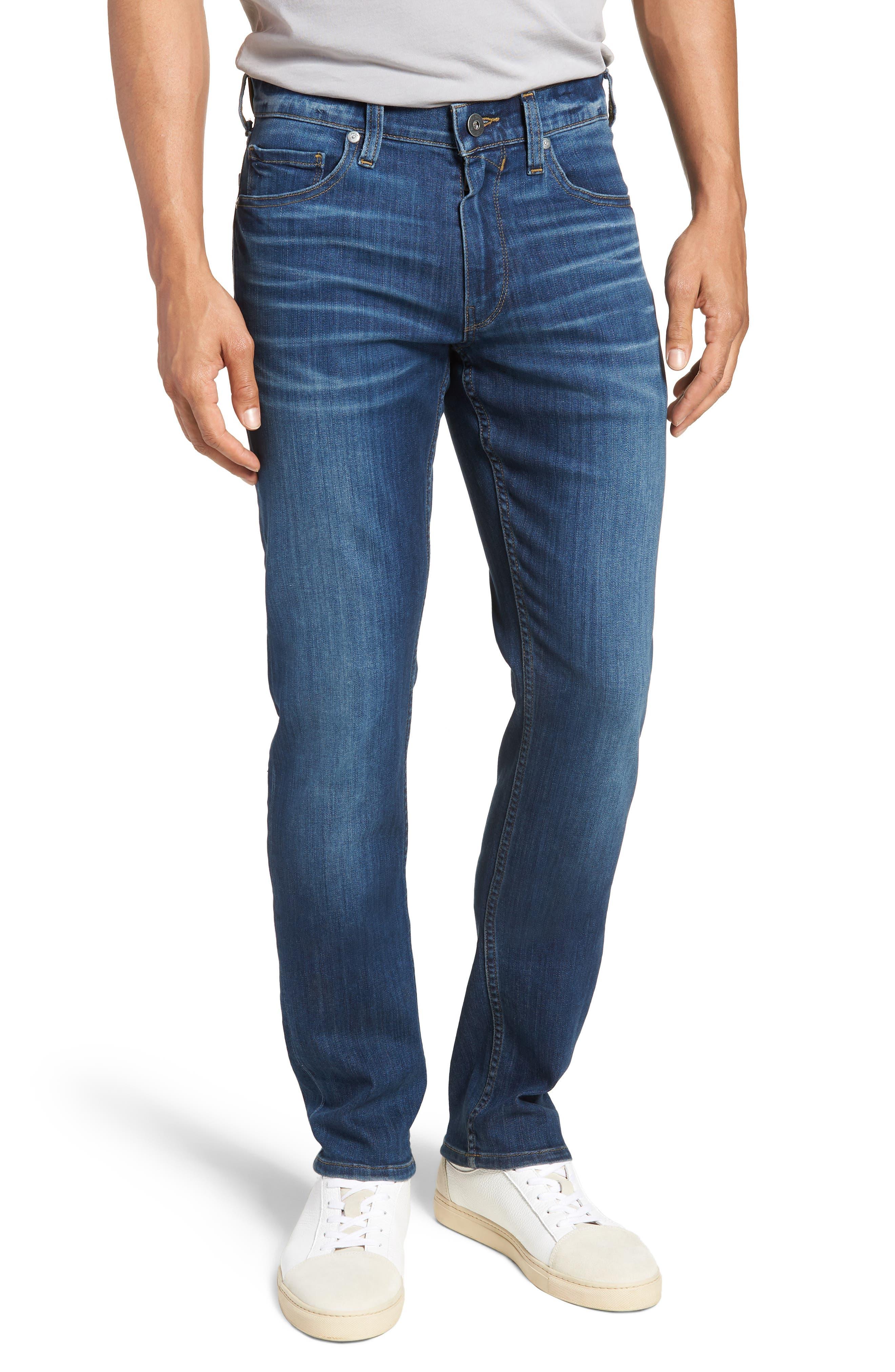 Transcend - Lennox Slim Fit Jeans,                             Main thumbnail 1, color,                             Ashbrook
