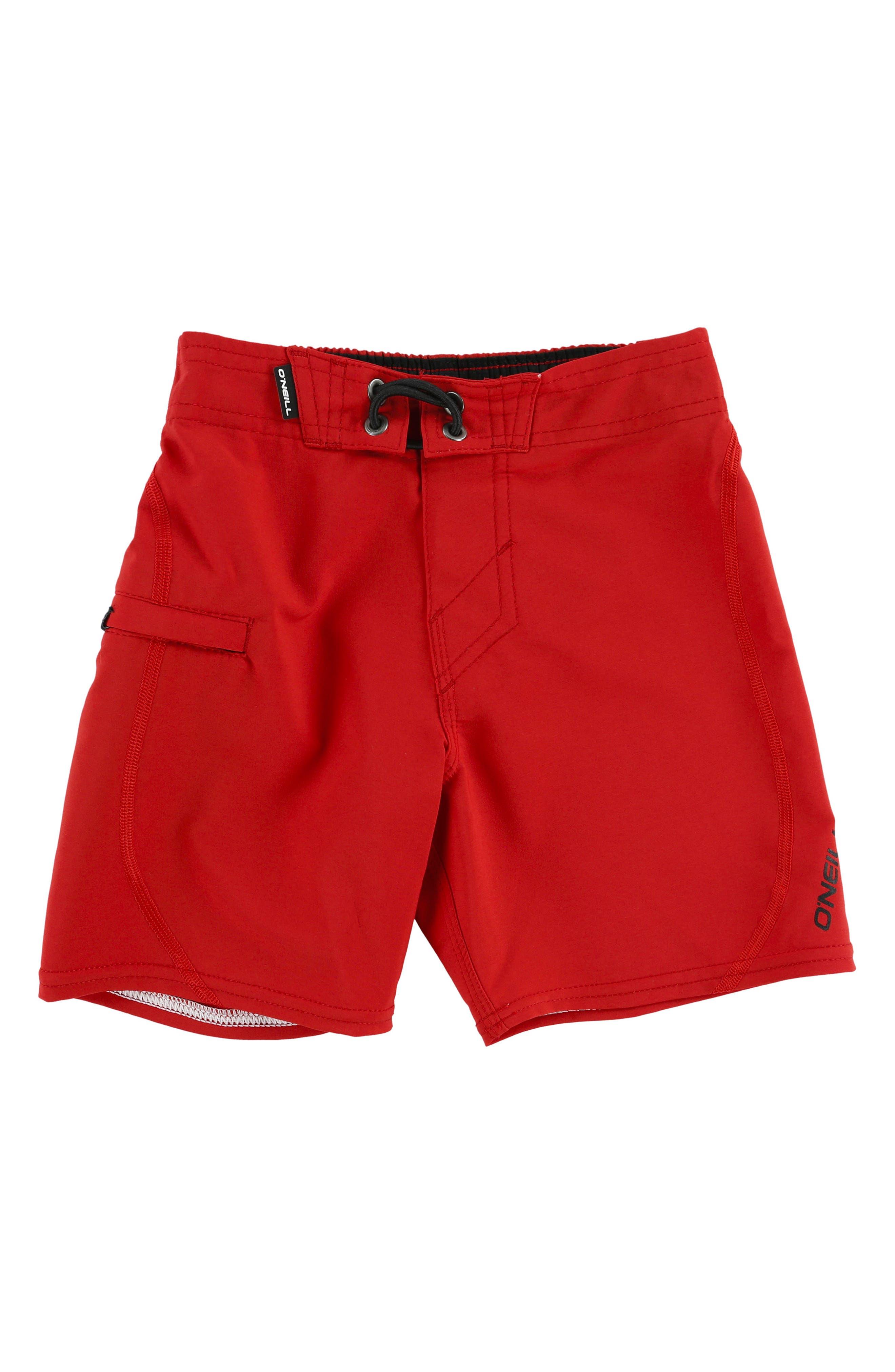 Hyperfreak S-Seam Board Shorts,                         Main,                         color, Red