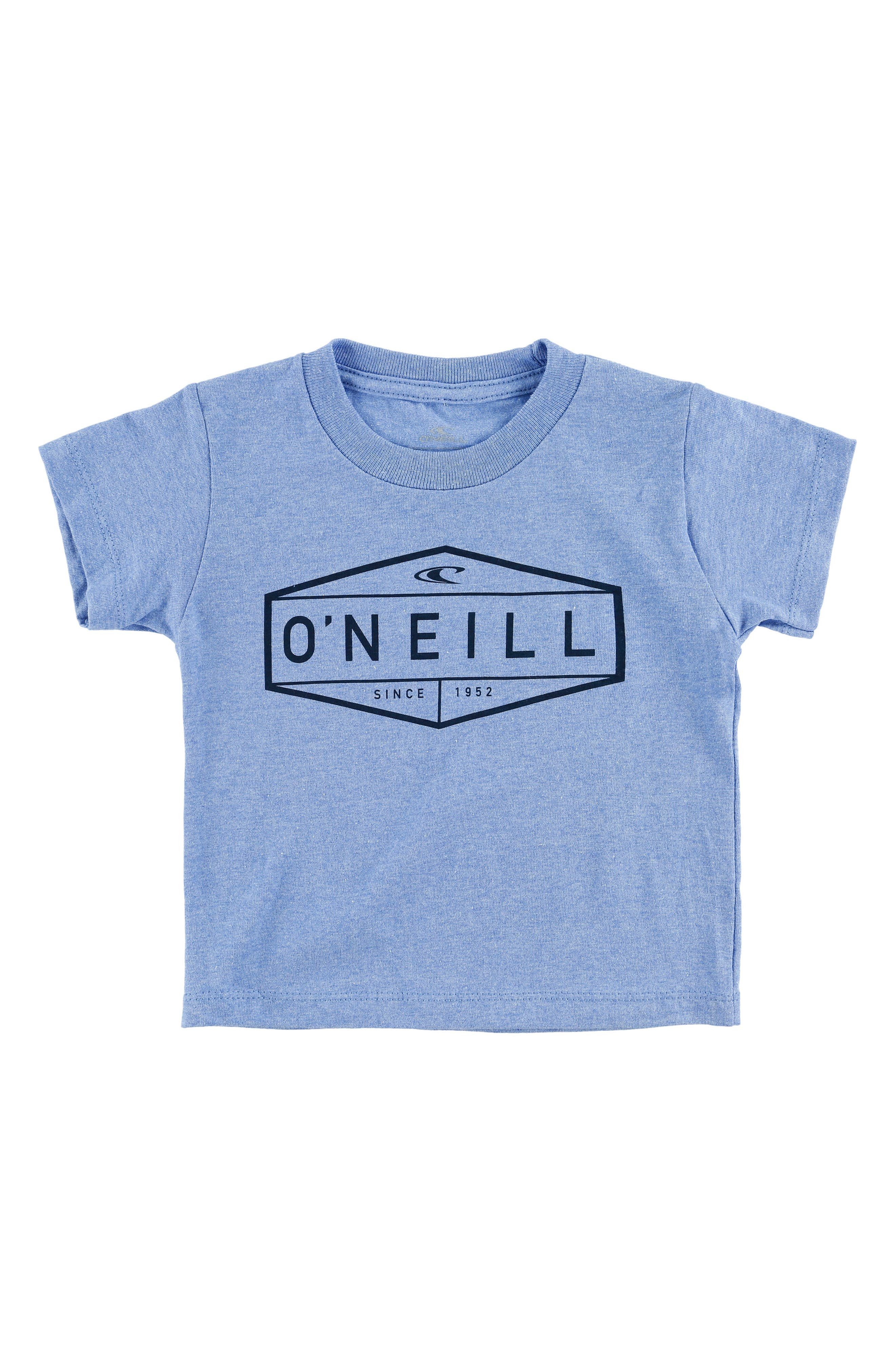 Boxer Graphic T-Shirt,                             Main thumbnail 1, color,                             Heather Light Blue