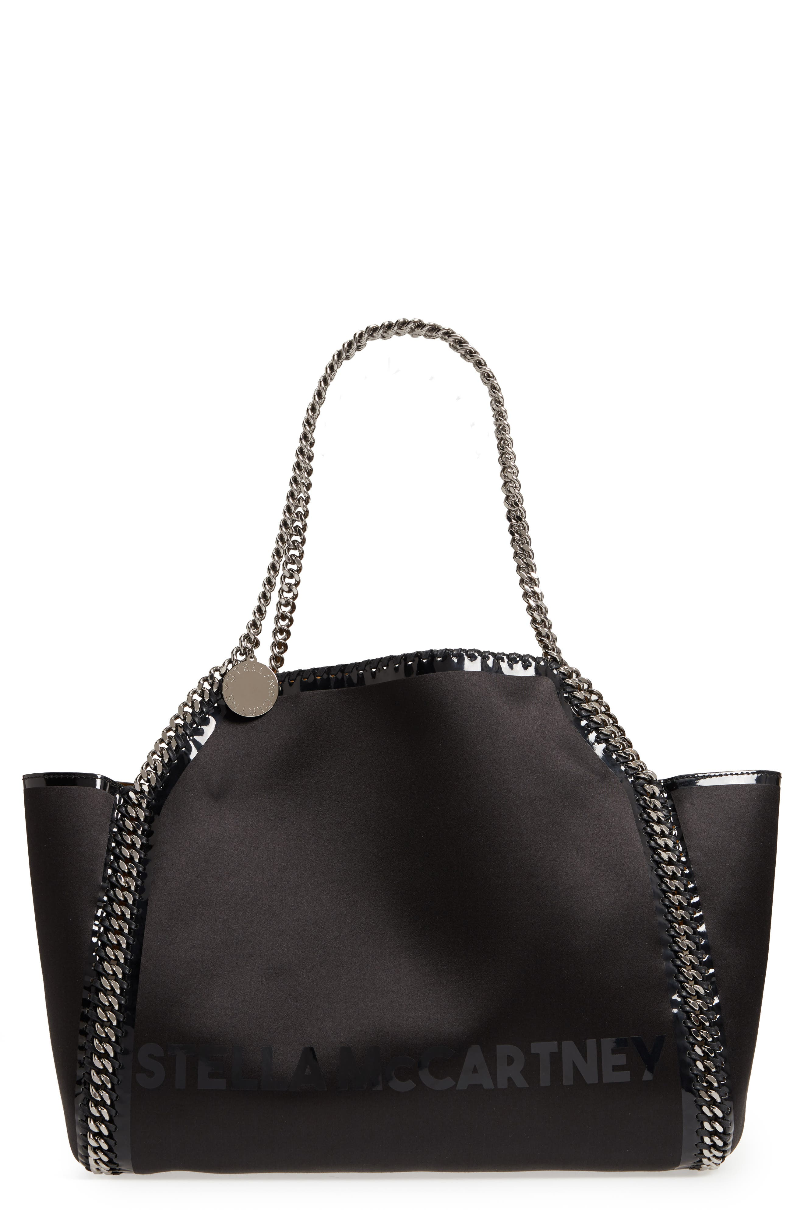 Stella McCartney Small Falabella Satin Tote