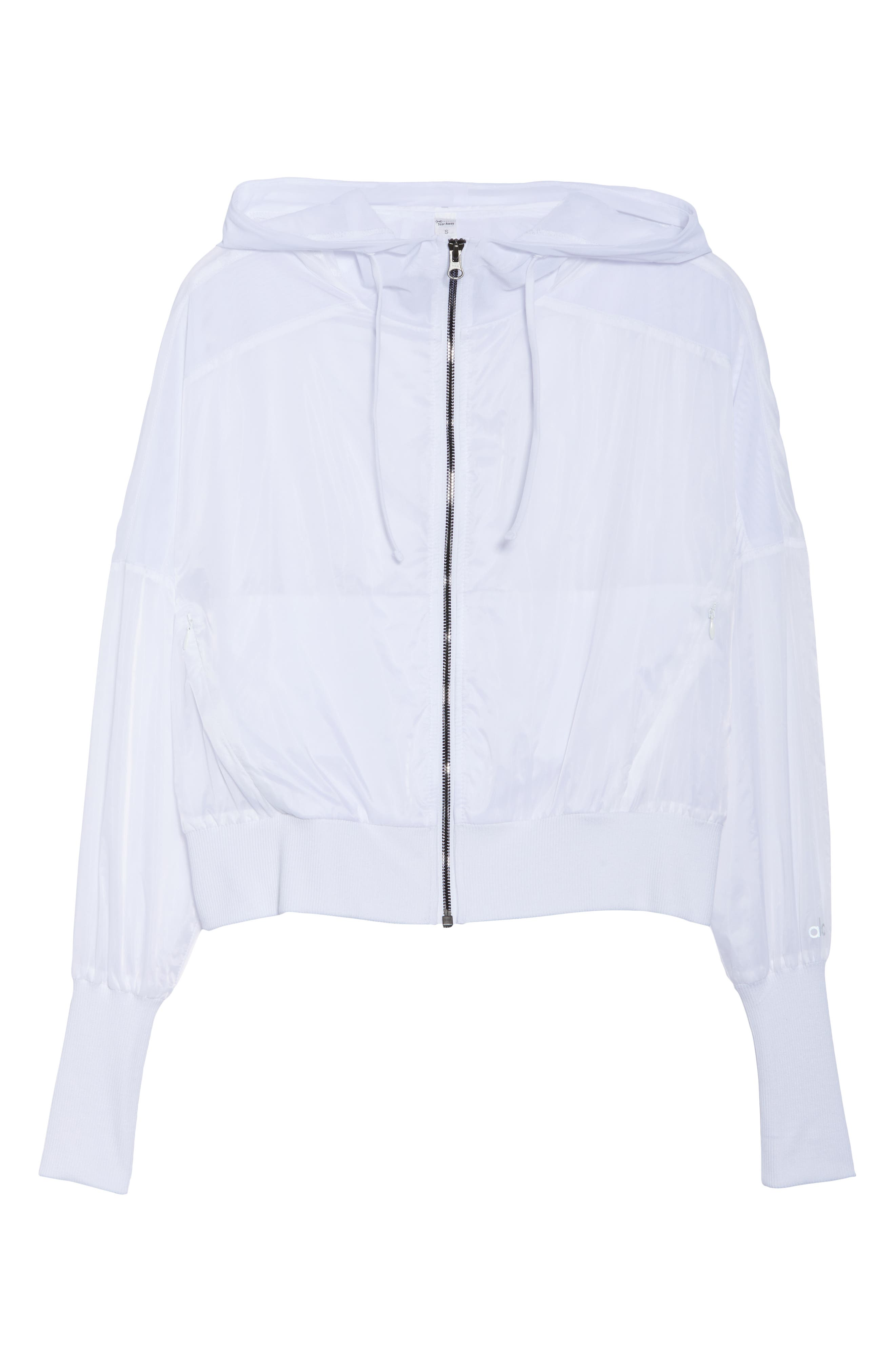 Aqua Jacket,                             Alternate thumbnail 7, color,                             White