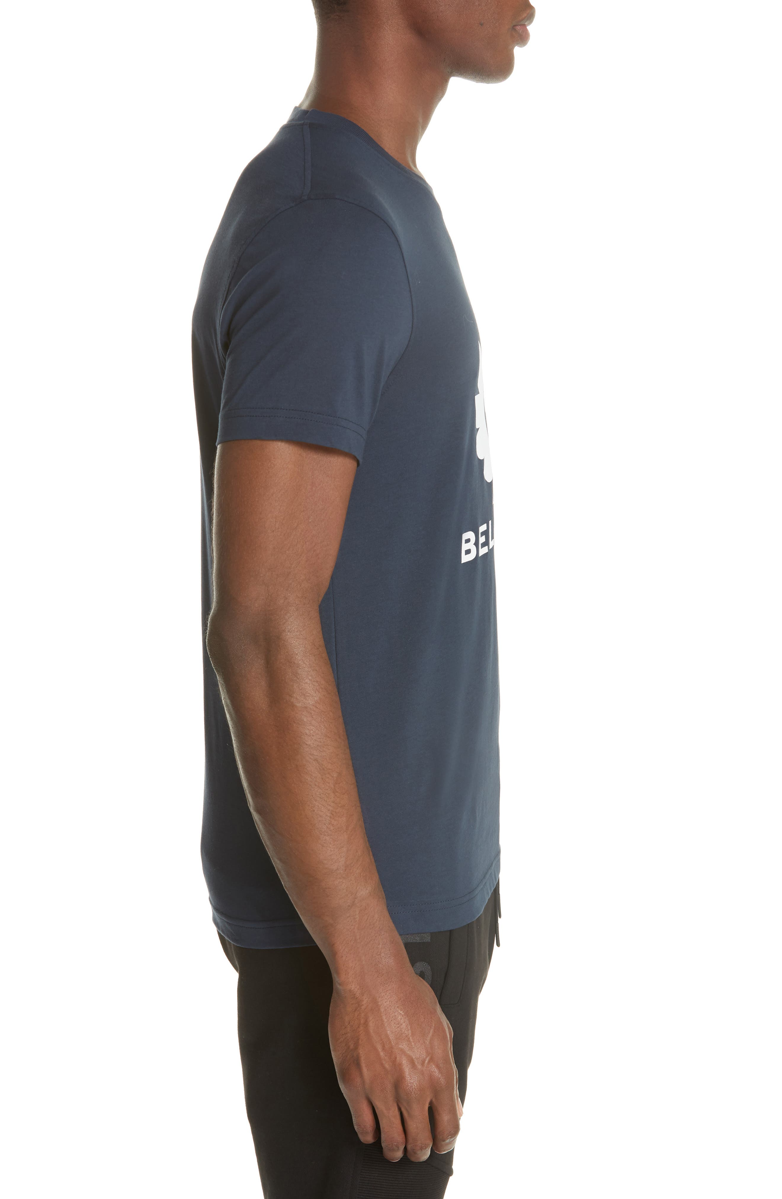 Logo Graphic Jersey T-Shirt,                             Alternate thumbnail 3, color,                             Deep Navy