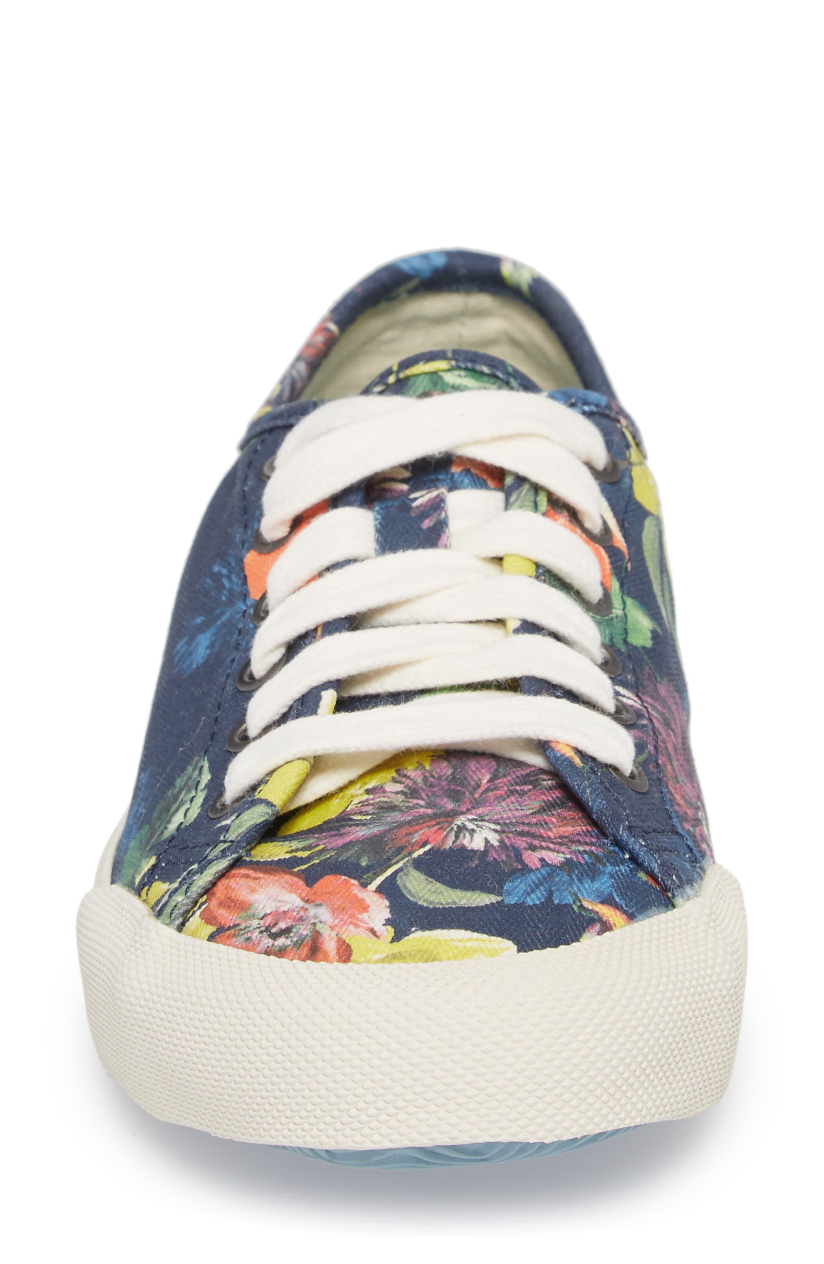 x Trina Turk Monterey Sneaker,                             Alternate thumbnail 4, color,                             Navy Chrysanthemum
