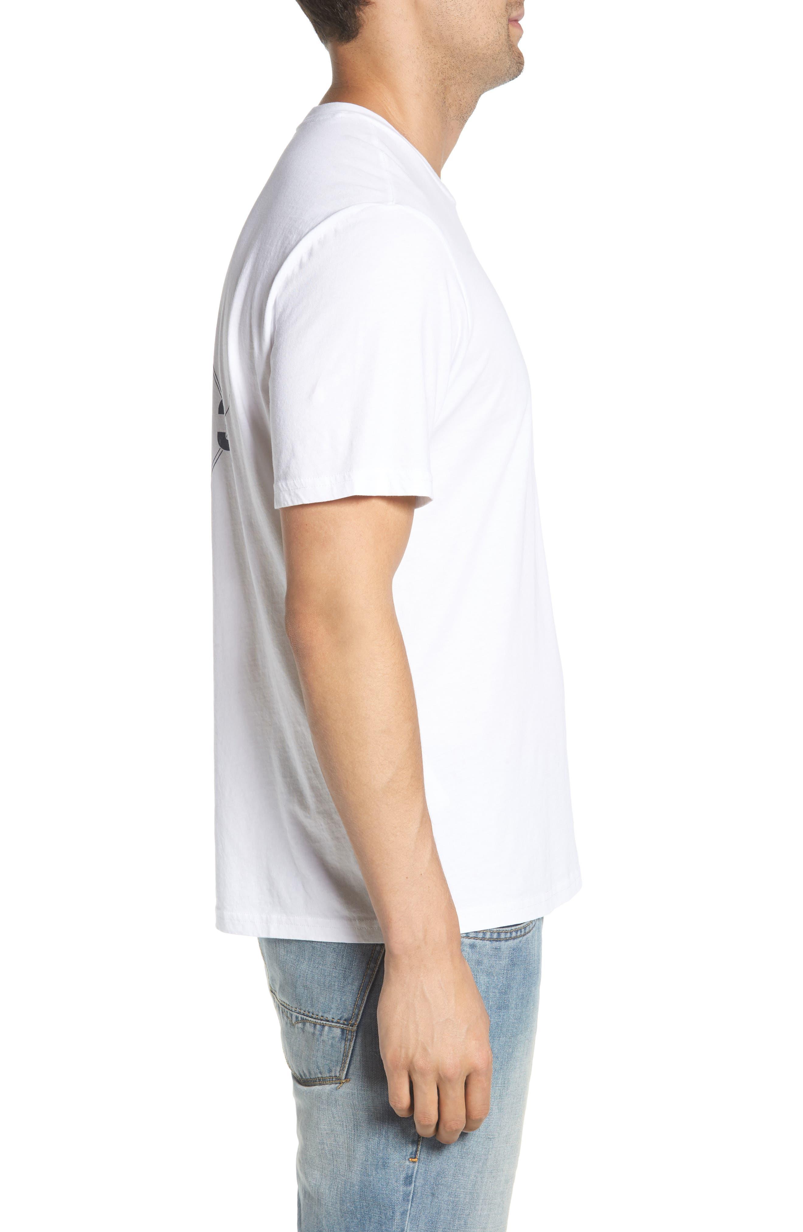 Diamond Cove T-Shirt,                             Alternate thumbnail 3, color,                             White
