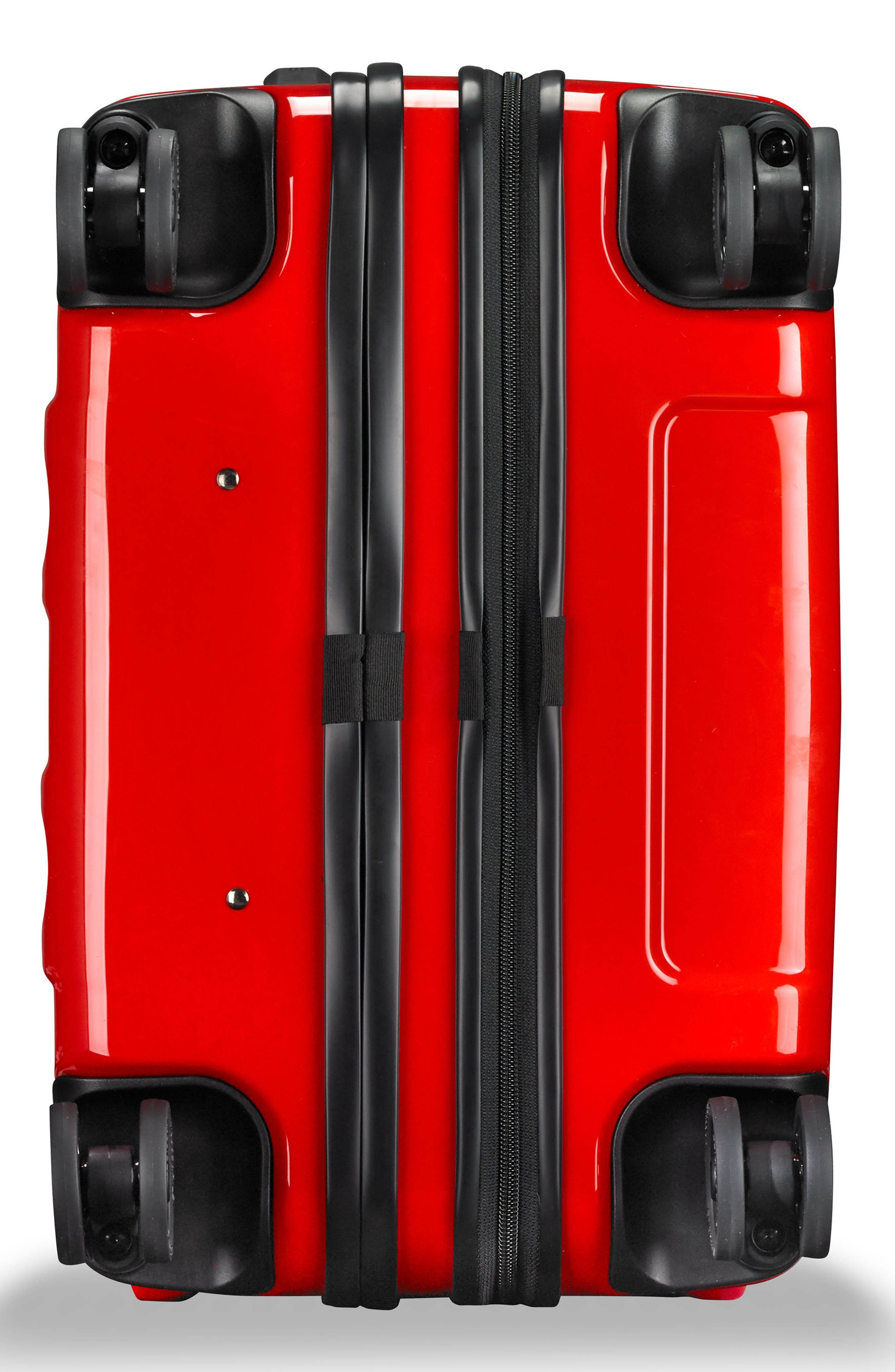 Sympatico 27-Inch Expandable Wheeled Packing Case,                             Alternate thumbnail 5, color,                             Fire