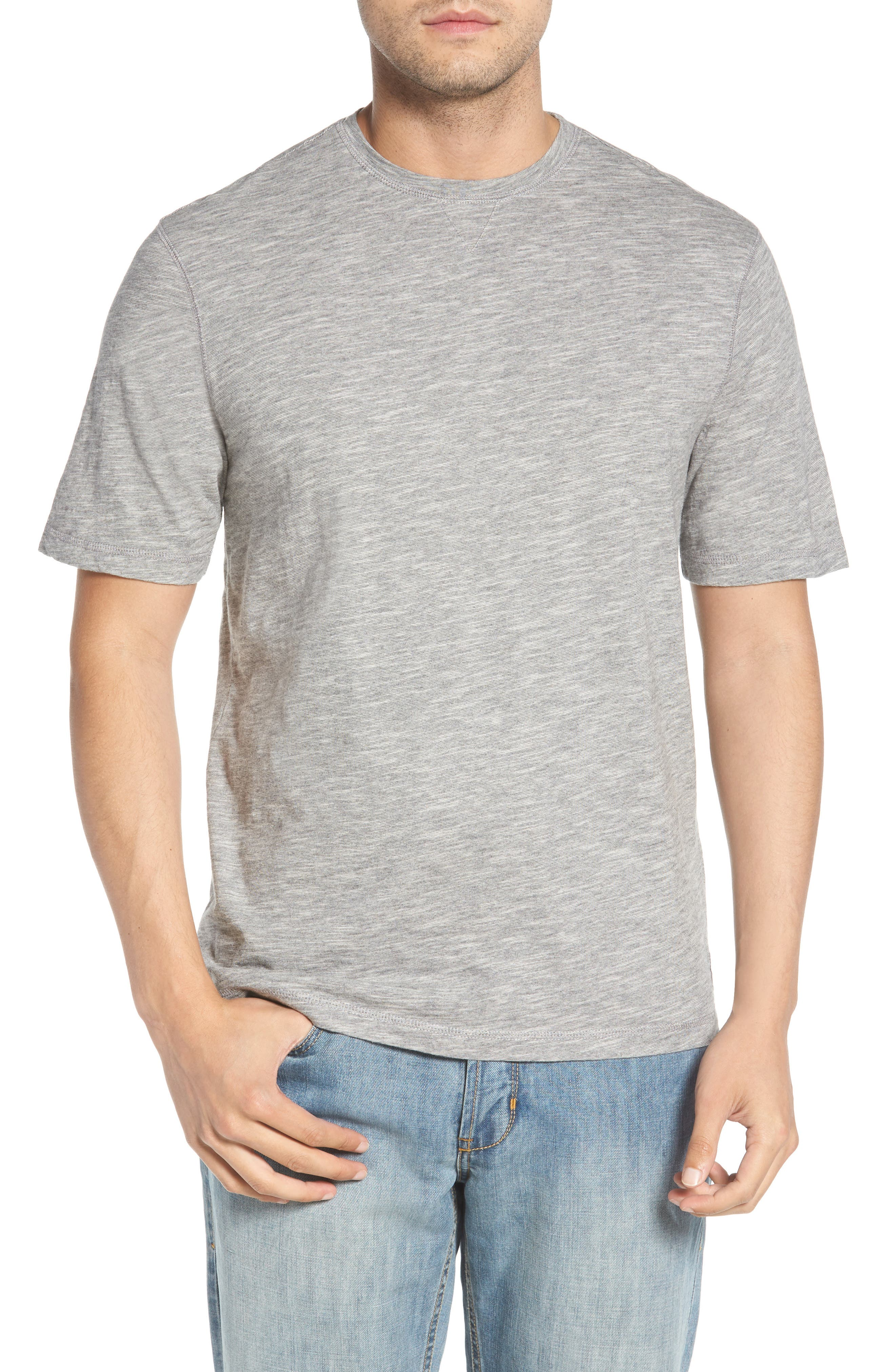 Slubbie Regular Fit Crewneck T-Shirt,                         Main,                         color, Regatta
