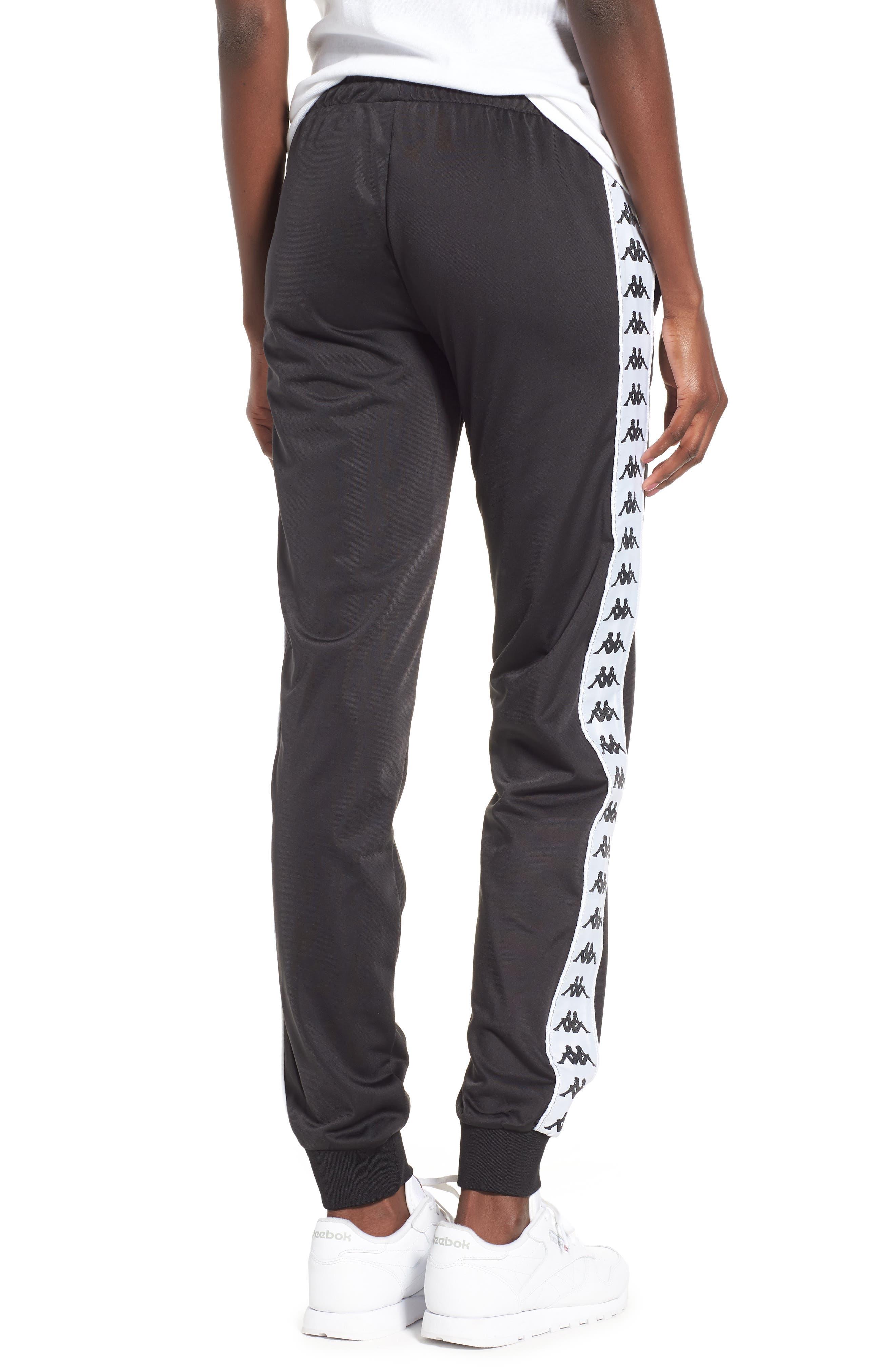 Banda Pants,                             Alternate thumbnail 2, color,                             Black/ White