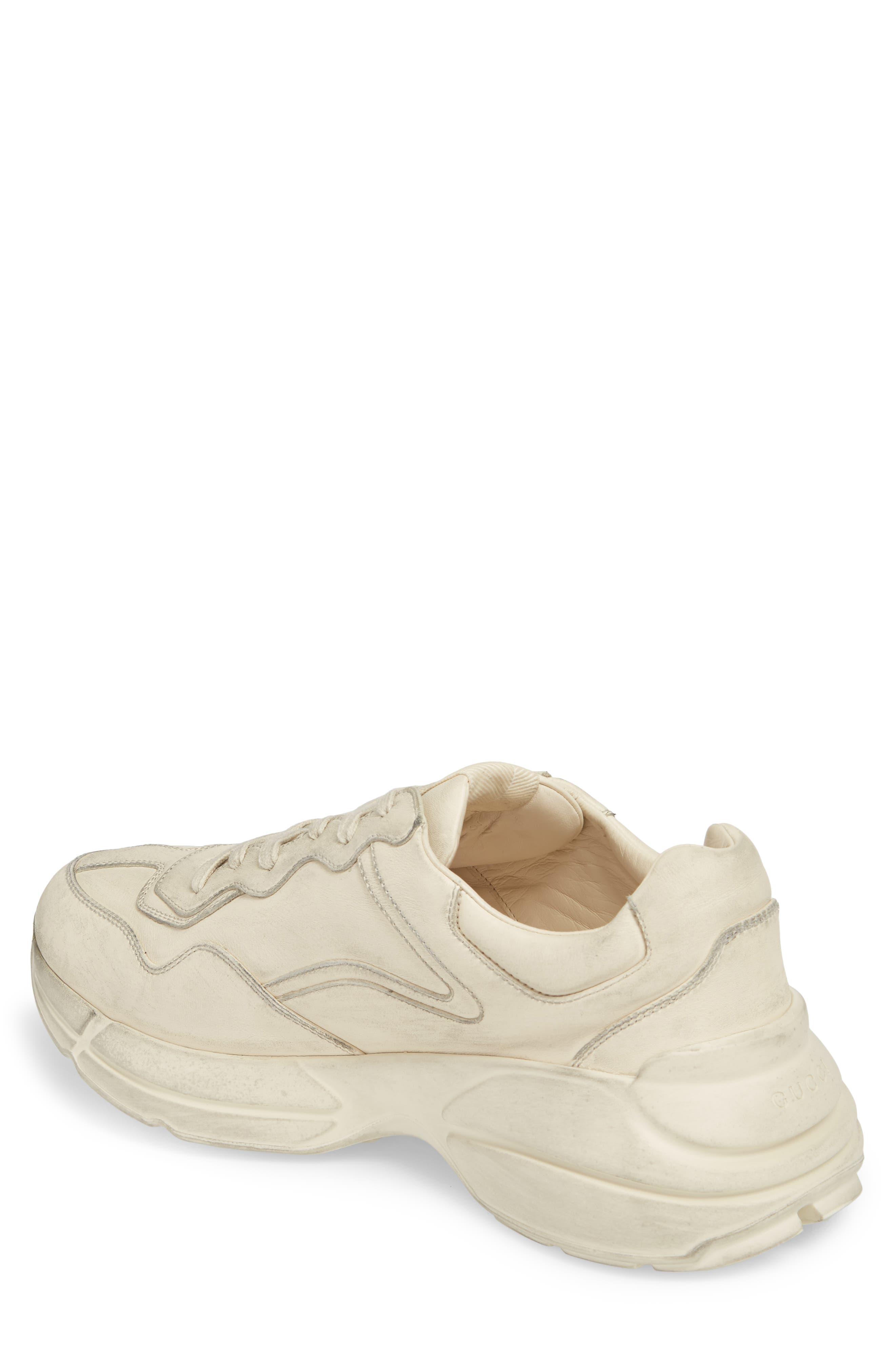 Rhyton Sneaker,                             Alternate thumbnail 2, color,                             Ivory White