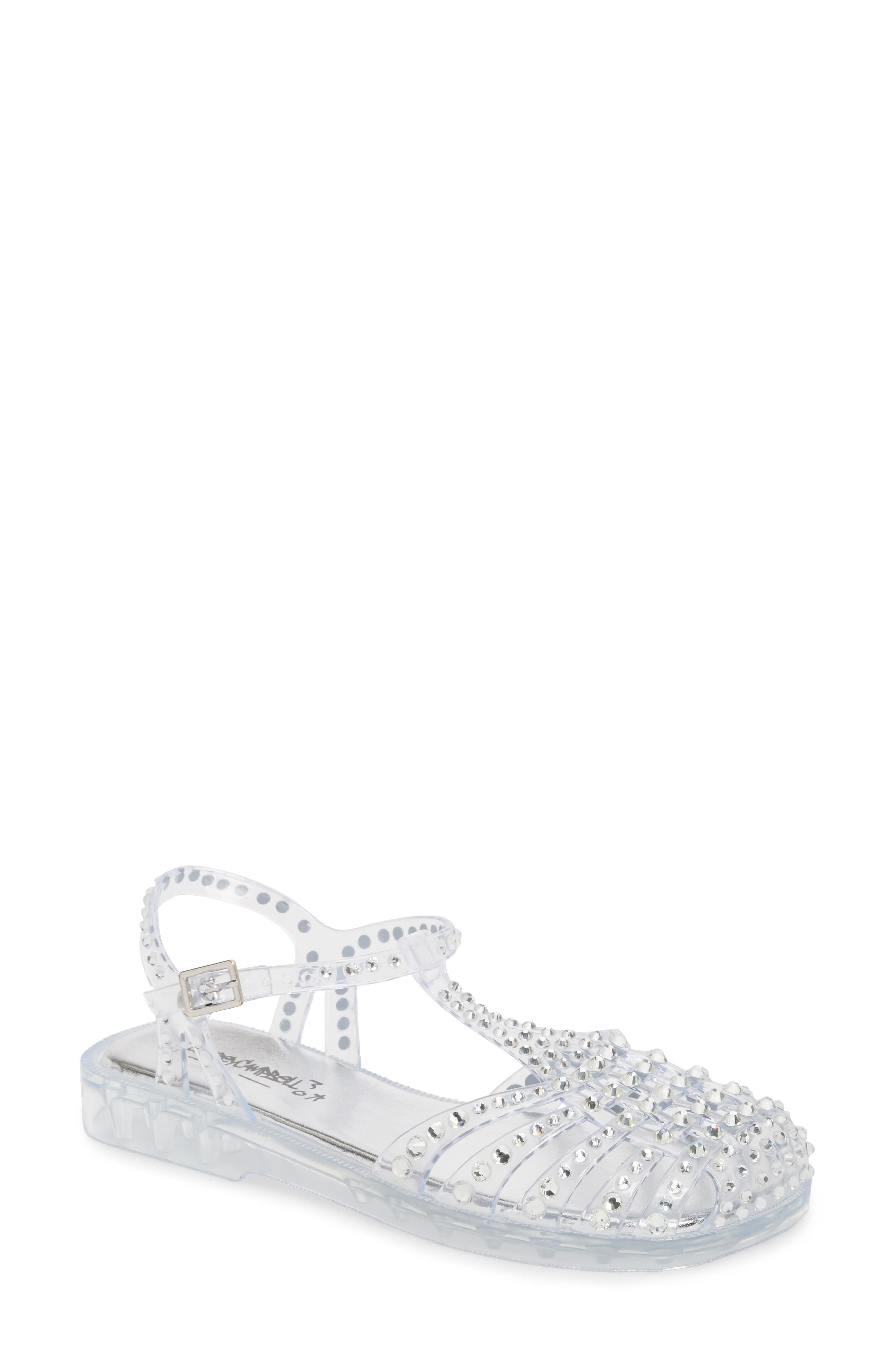 Jeffrey Campbell Gelly Embellished Sandal (Women)