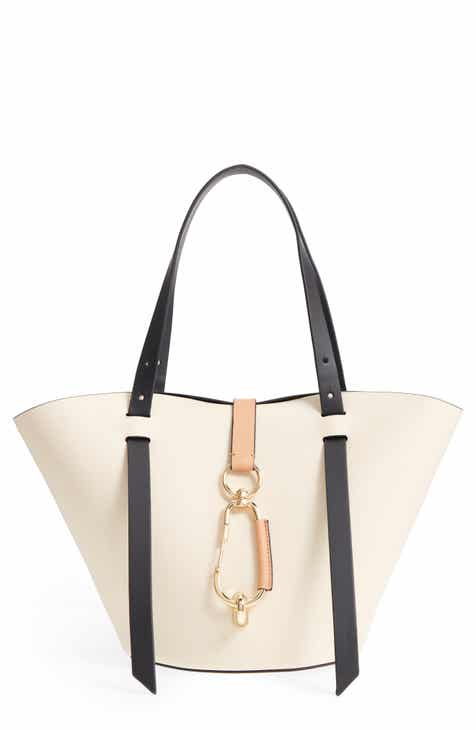 ZAC Zac Posen Small Belay Leather Tote