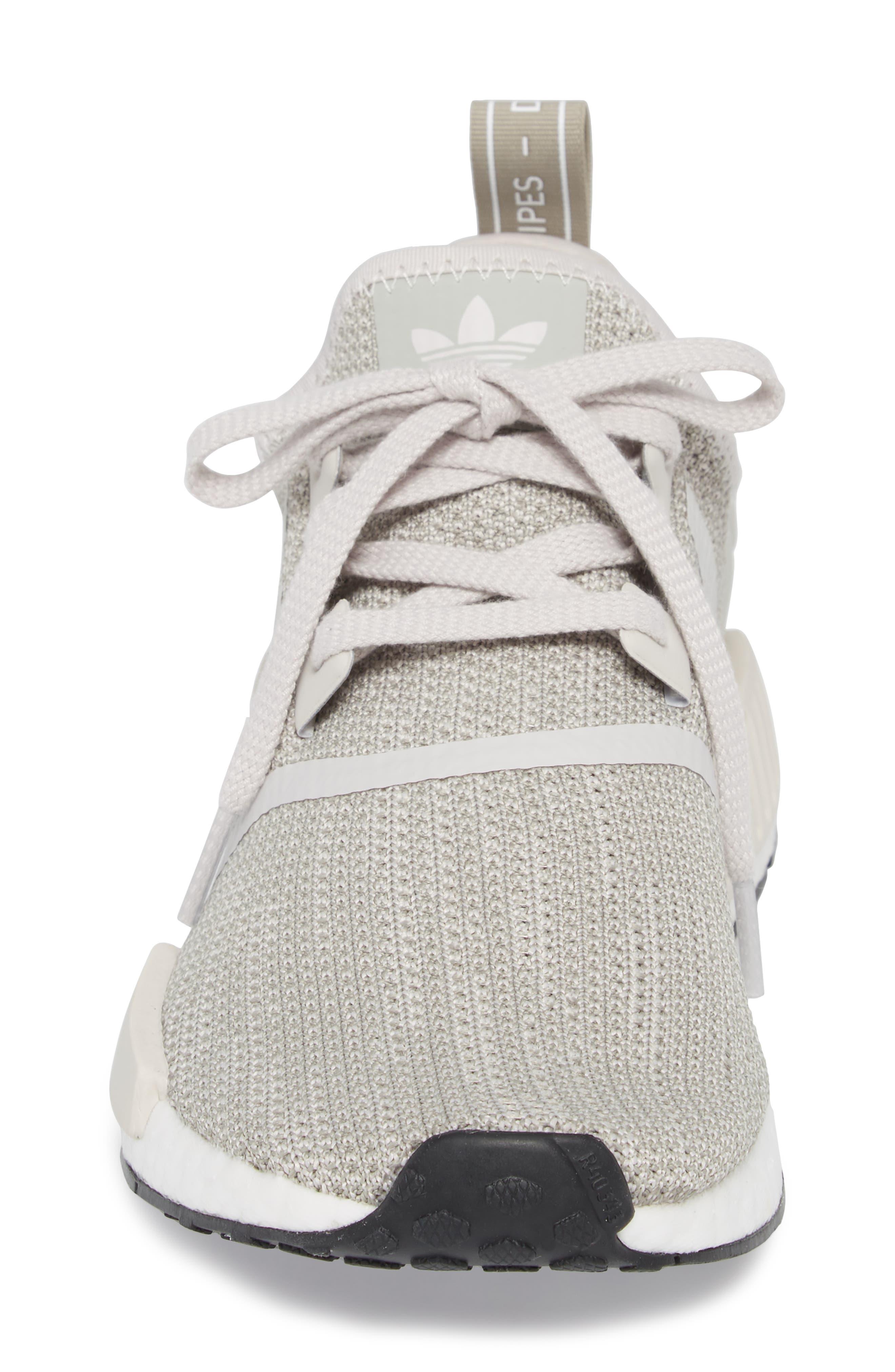 NMD_R1 Sneaker,                             Alternate thumbnail 4, color,                             Raw Gold/ Tech Beige/ Black