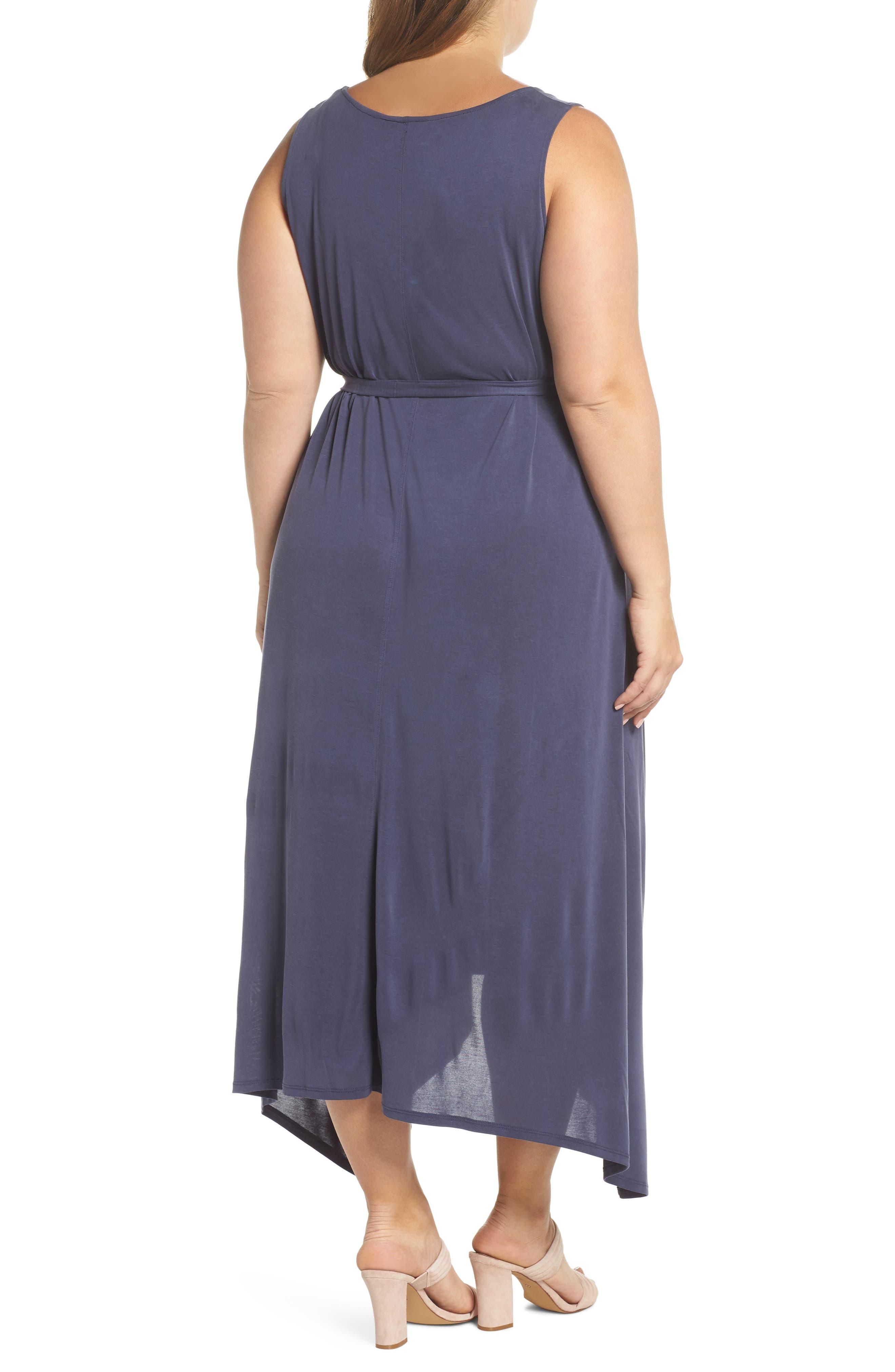Sandwashed Maxi Dress,                             Alternate thumbnail 2, color,                             Navy